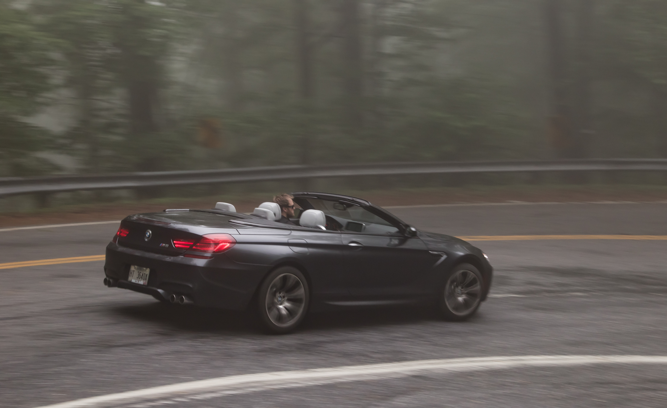 2012 BMW M6 Convertible Test Drive Rear And Side View (Photo 24 of 30)