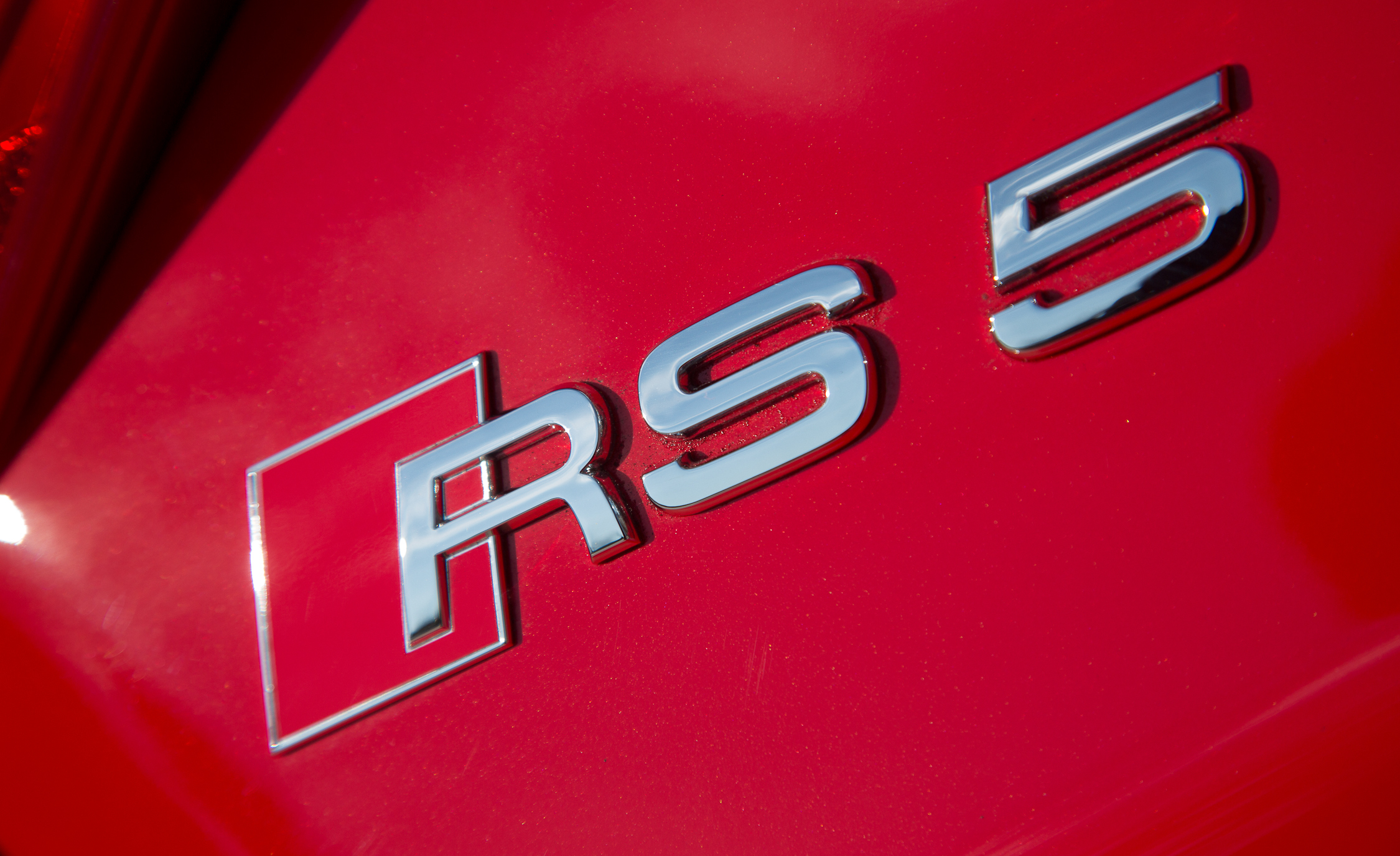 2013 Audi RS 5 Exterior View Rear Badge (Photo 14 of 41)