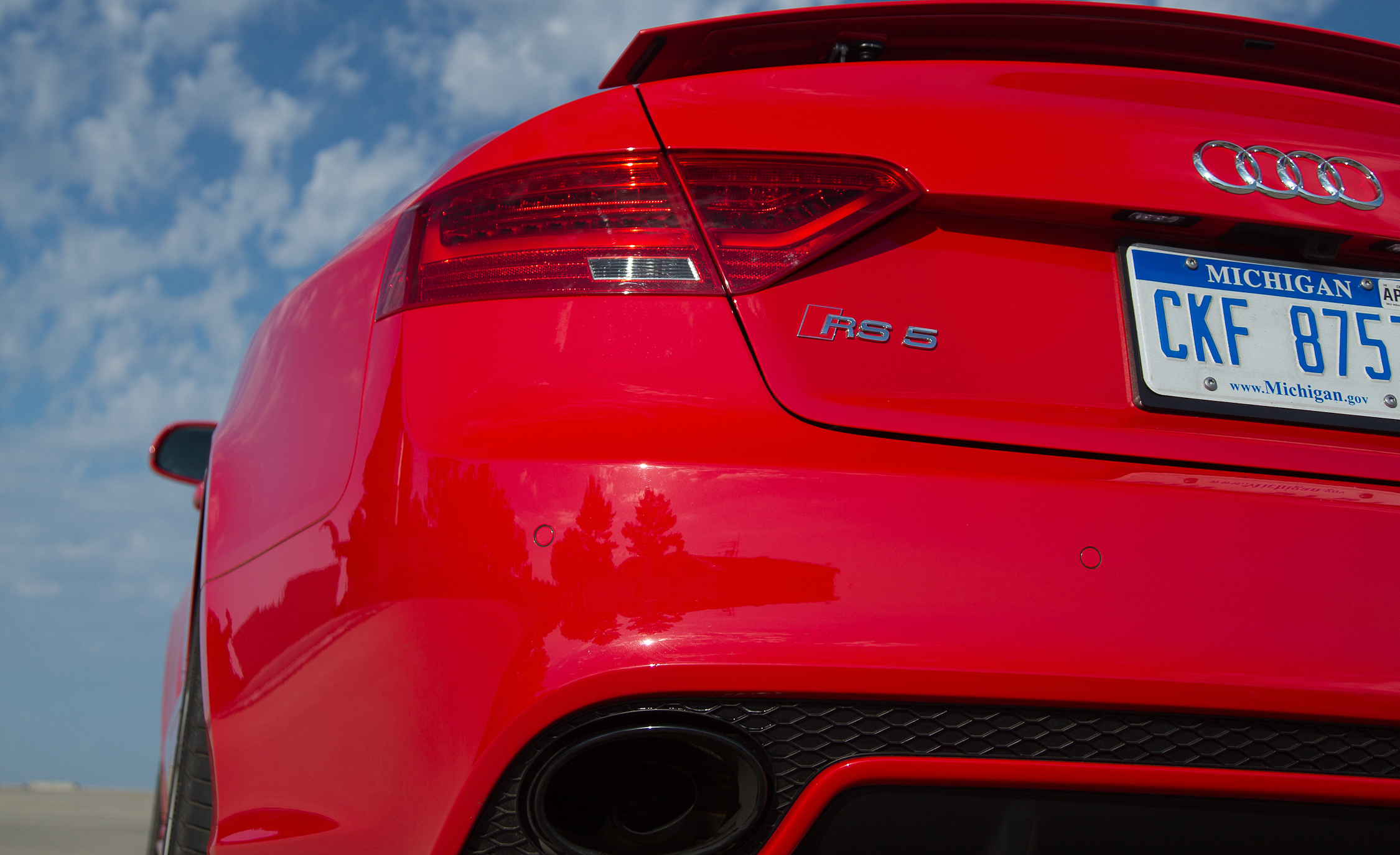 2013 Audi RS 5 Exterior View Rear Bumper (View 11 of 41)