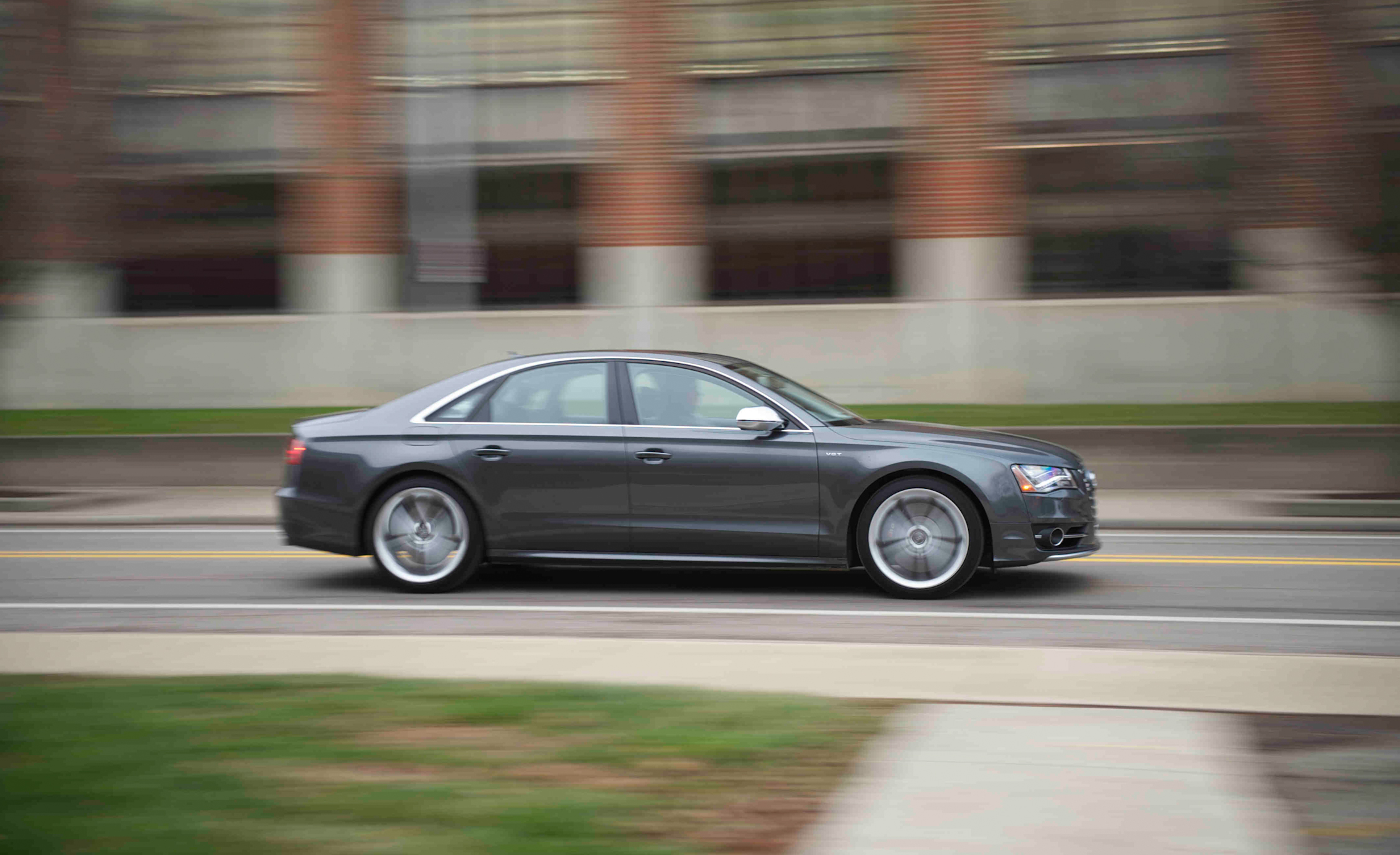 2013 Audi S8 Grey Metallic (View 20 of 25)