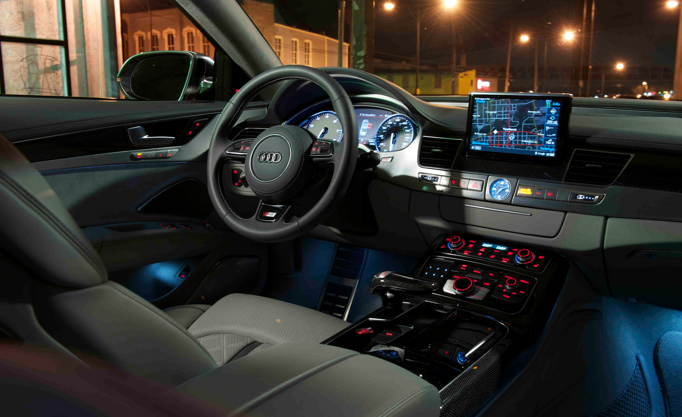 2013 Audi S8 Interior Driver Steering And Dash (Photo 15 of 25)