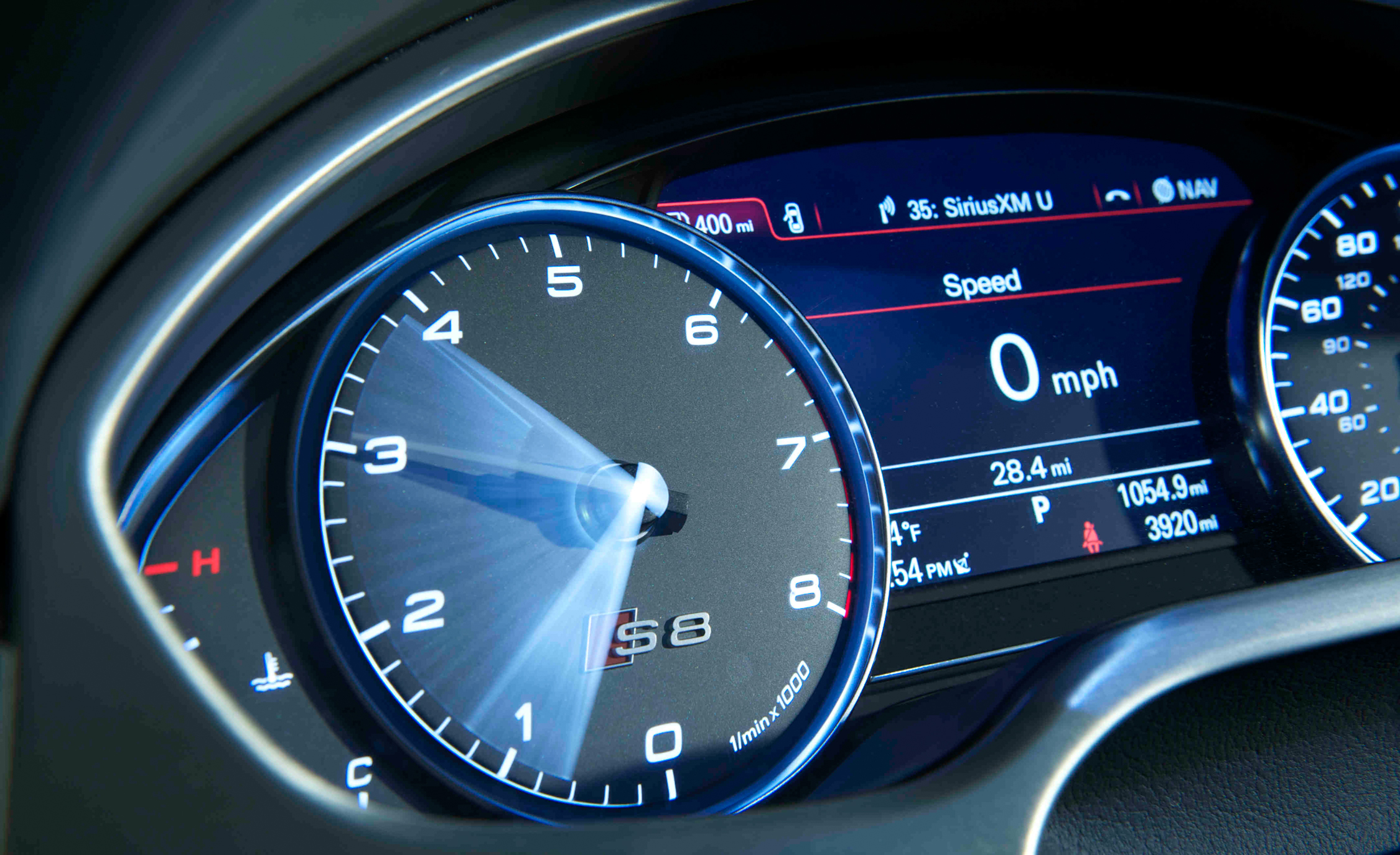 2013 Audi S8 Interior View Instrument Cluster (View 11 of 25)