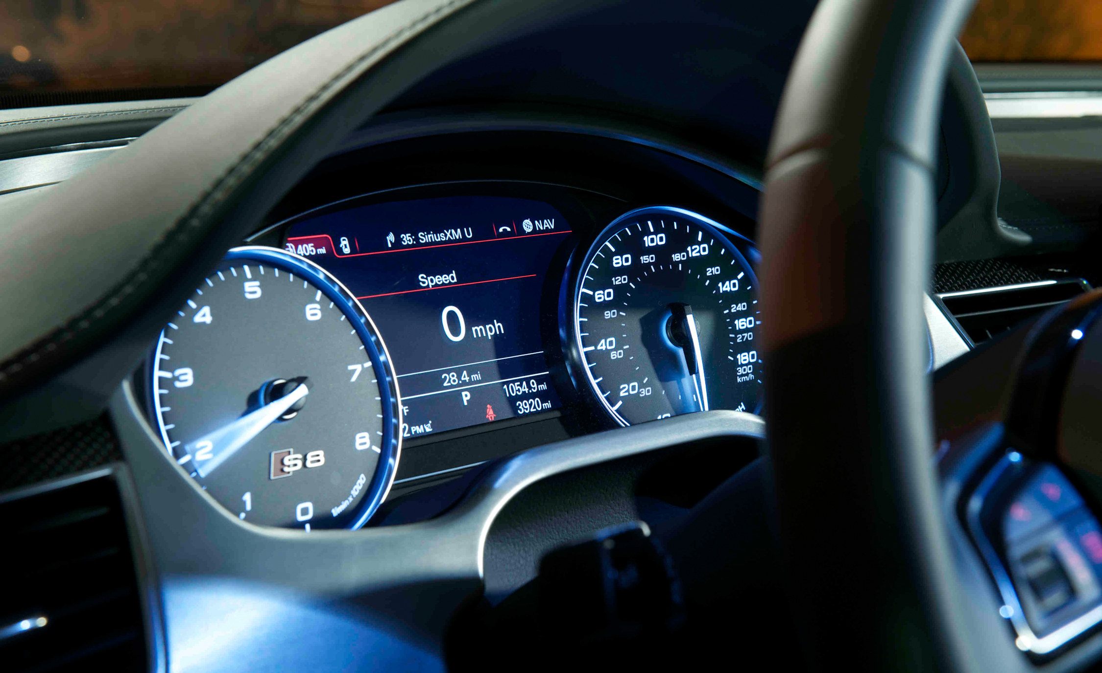 2013 Audi S8 Interior View Speedometer (Photo 12 of 25)