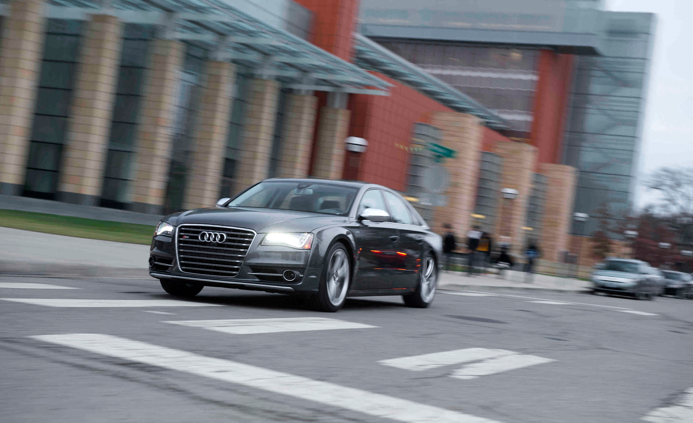 2013 Audi S8 Test Drive Front And Side View (View 4 of 25)