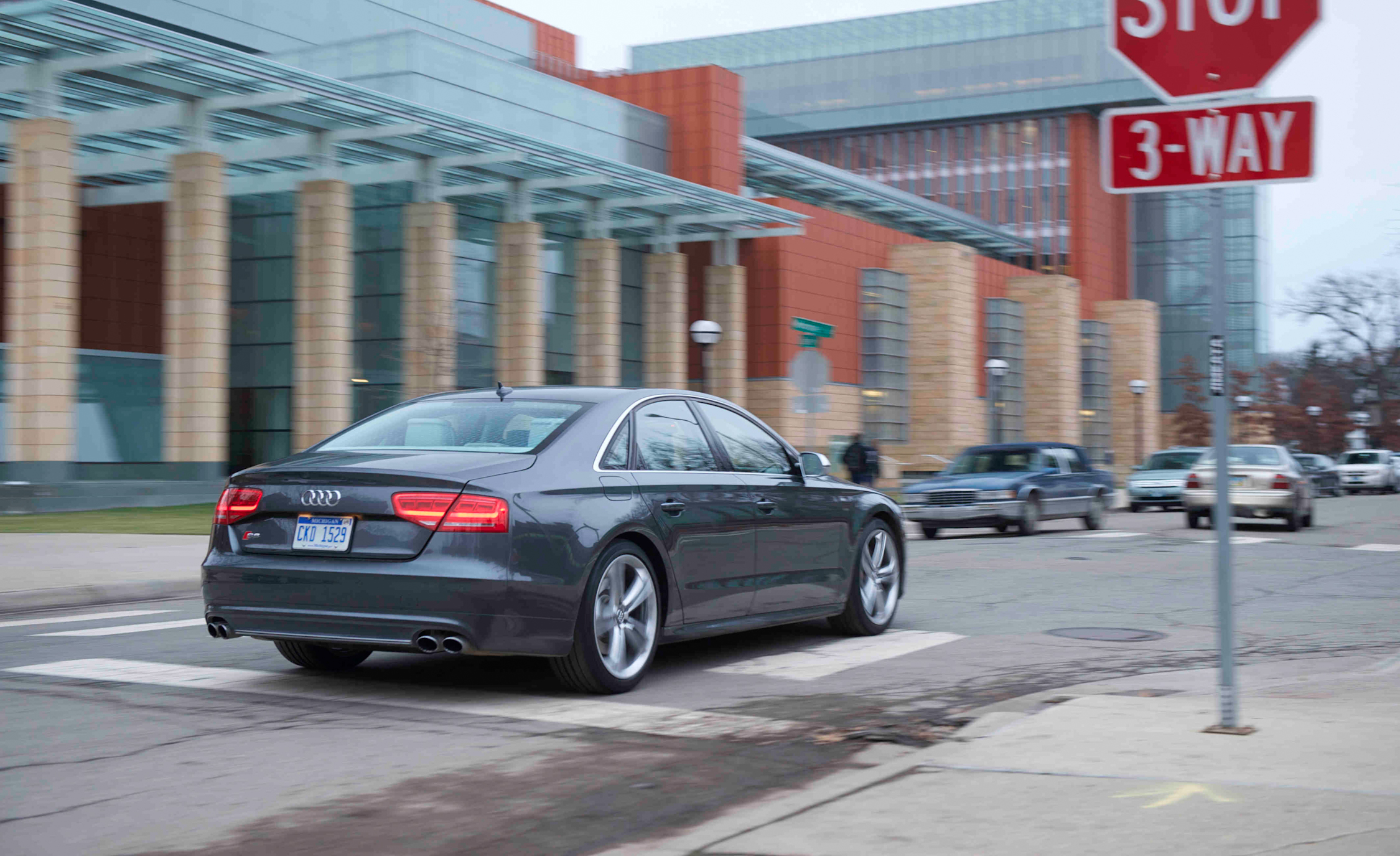 2013 Audi S8 Test Drive Rear View (View 5 of 25)