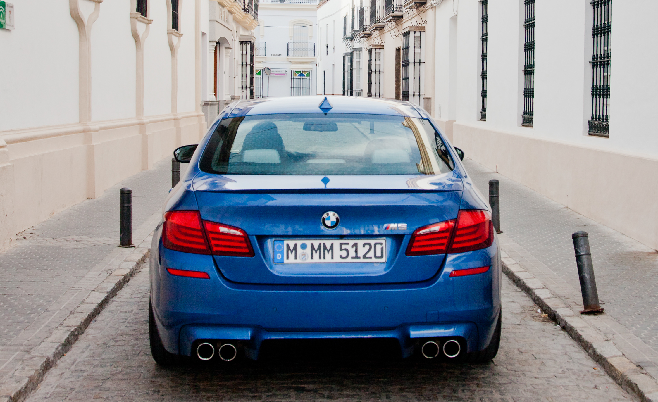 2013 BMW M5 Exterior Rear (View 15 of 22)