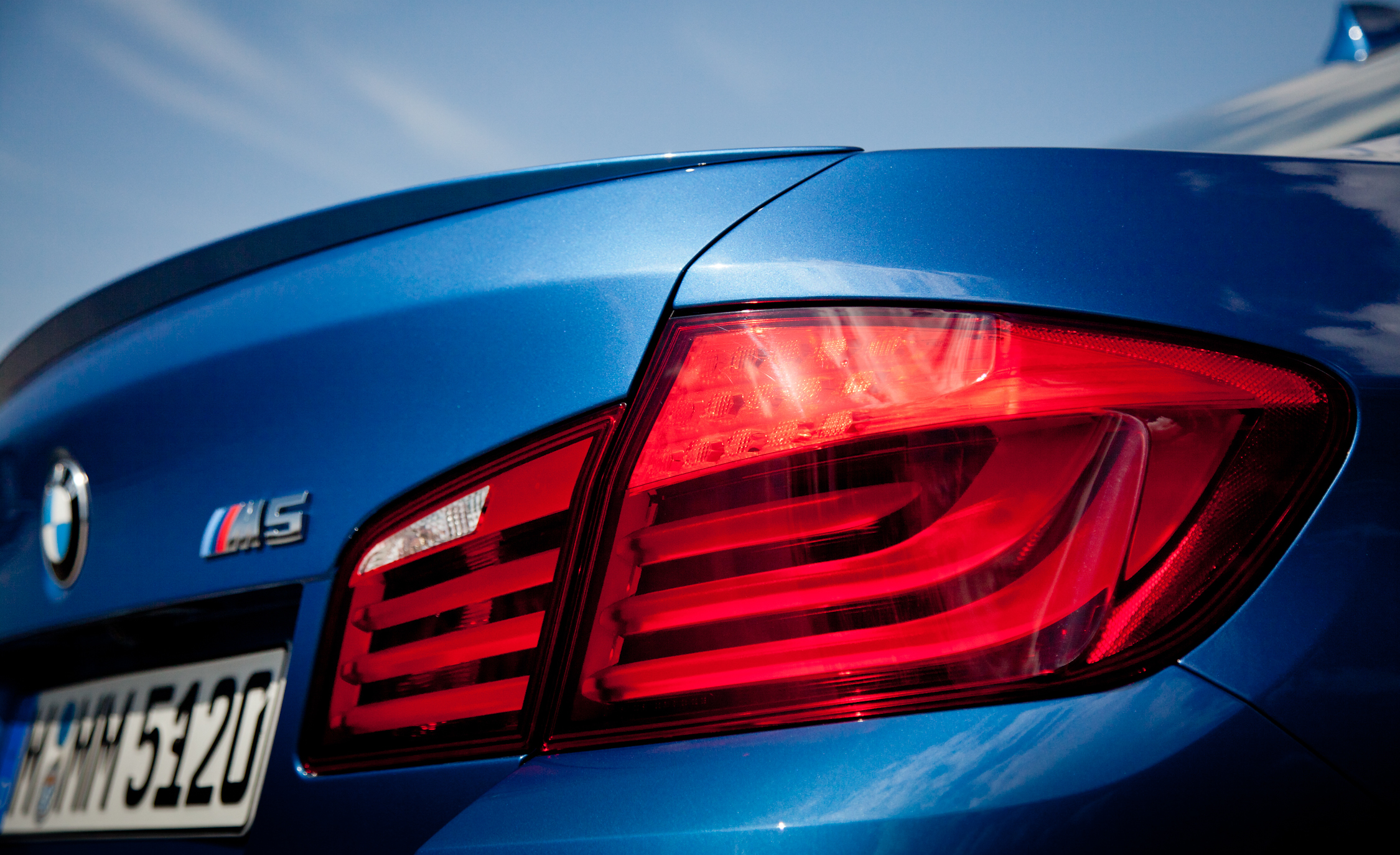 2013 BMW M5 Exterior View Taillight (View 14 of 22)