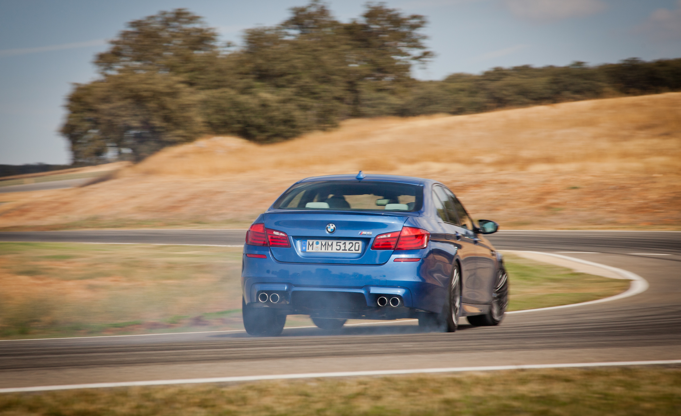 2013 BMW M5 Test Drive Rear Corner (View 2 of 22)
