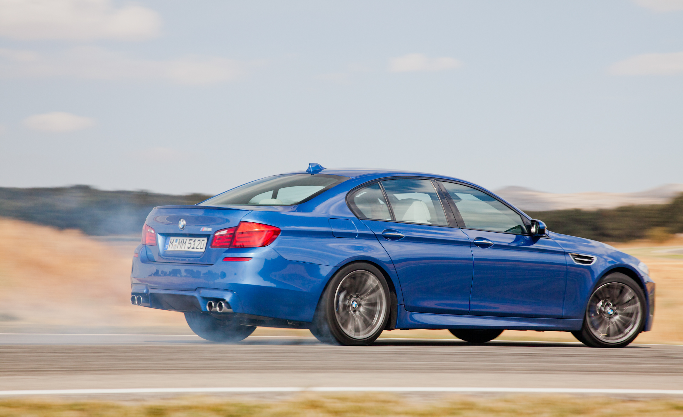 2013 BMW M5 Test Drive Side And Rear View (View 19 of 22)
