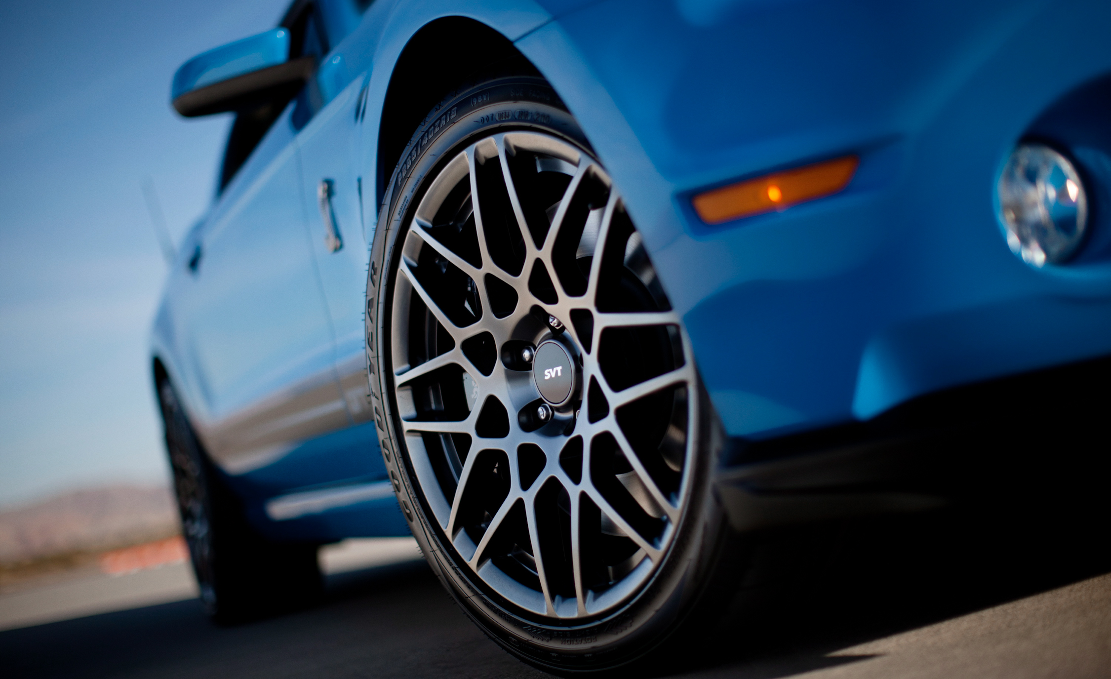 2013 Ford Mustang Shelby GT500 Blue Exterior View Wheel Velg (Photo 8 of 47)
