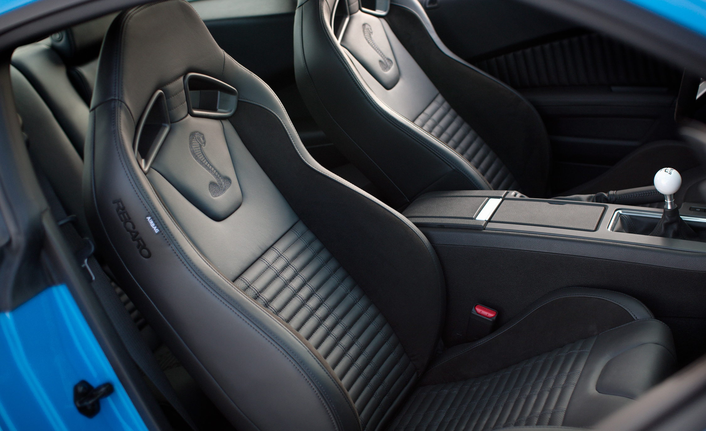 2013 Ford Mustang Shelby GT500 Interior Seats (Photo 22 of 47)