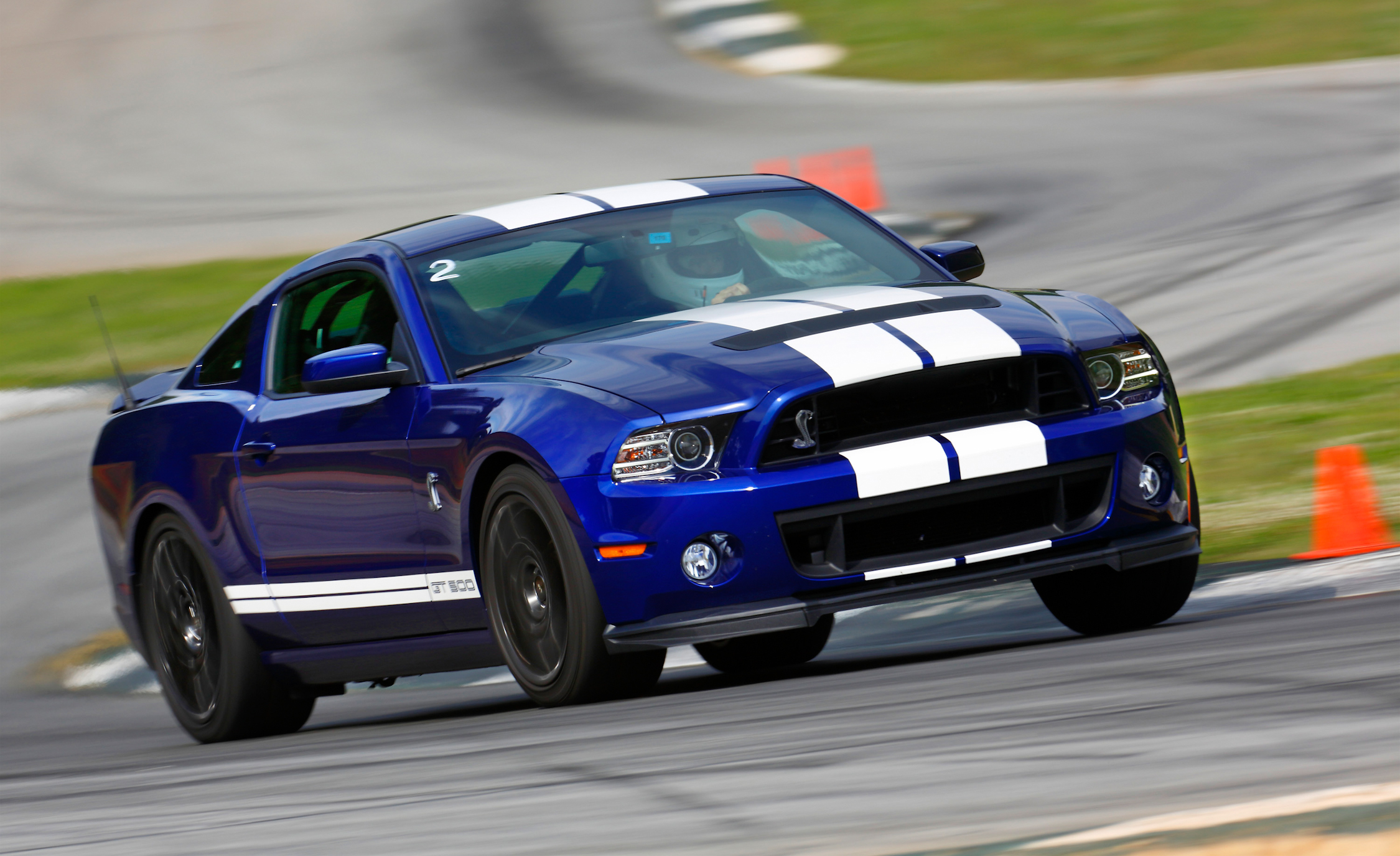 2013 Ford Shelby GT500 Blue (View 1 of 47)