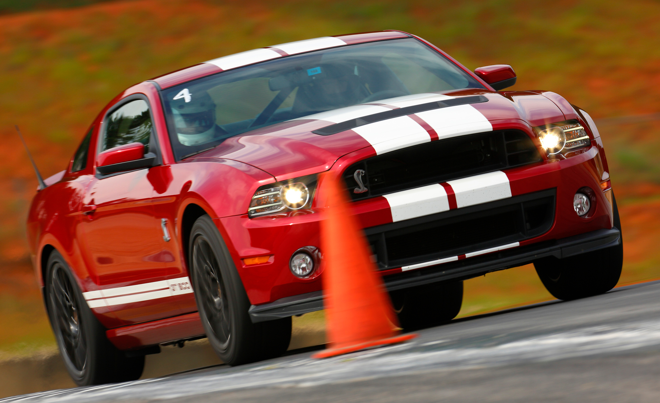 2013 Ford Shelby GT500 Red (Photo 45 of 47)