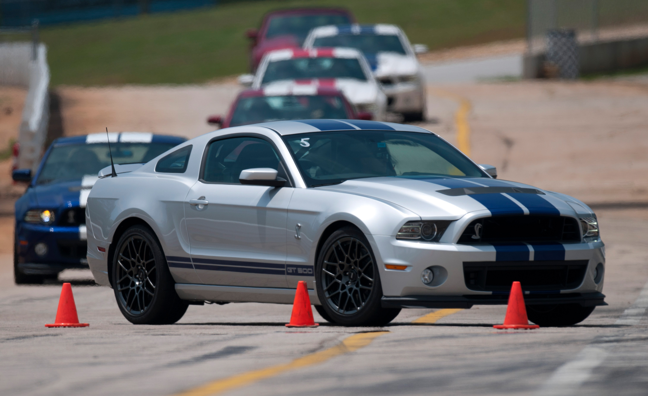 2013 Ford Shelby GT500 Silver (Photo 46 of 47)