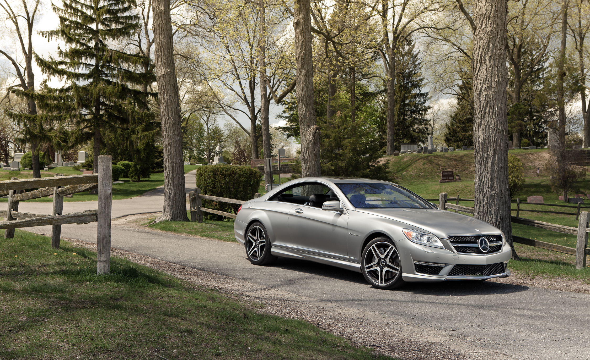 2013 Mercedes Benz CL65 AMG Exterior Front And Side (Photo 2 of 27)