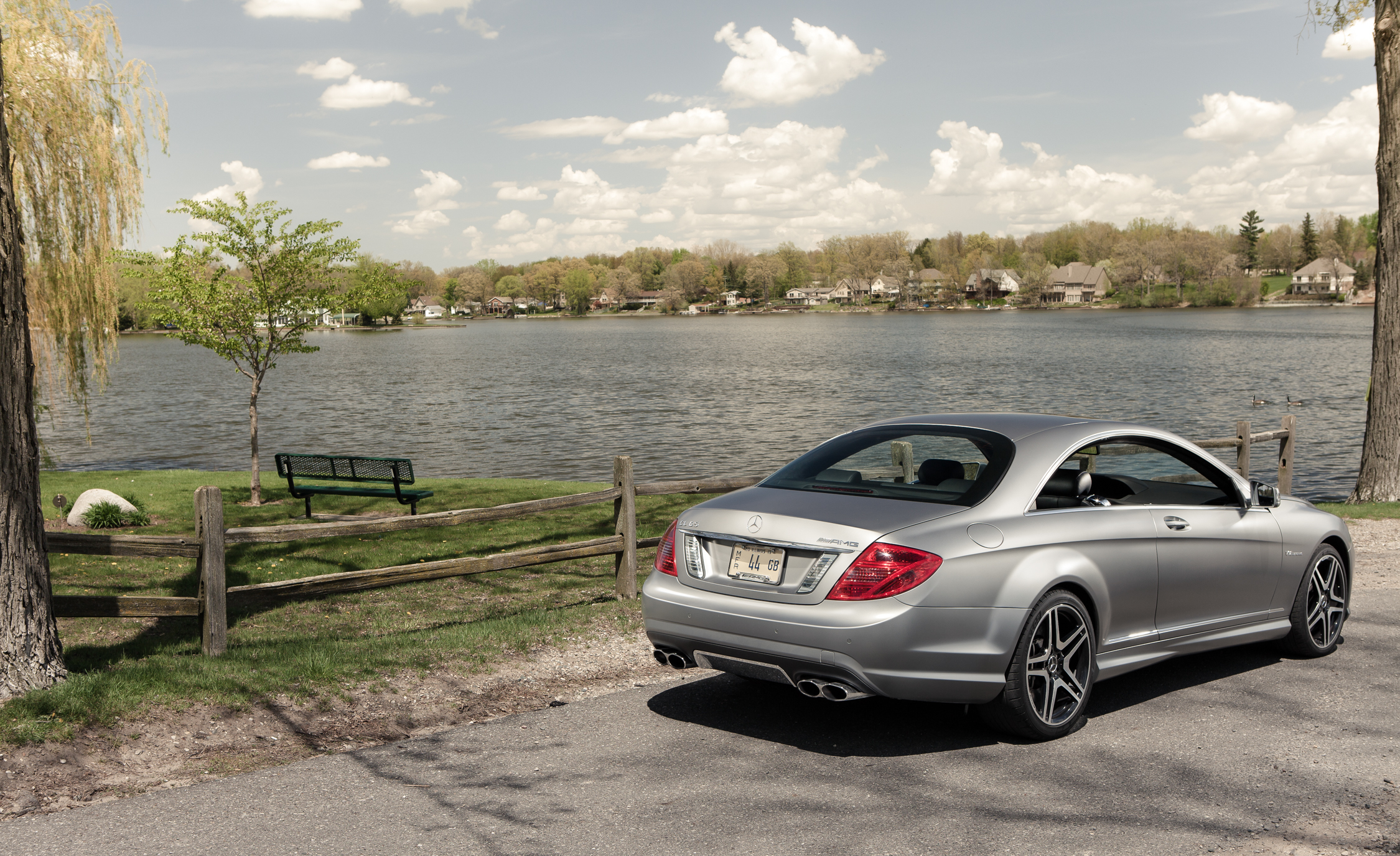 2013 Mercedes Benz CL65 AMG Exterior Rear And Side (Photo 3 of 27)