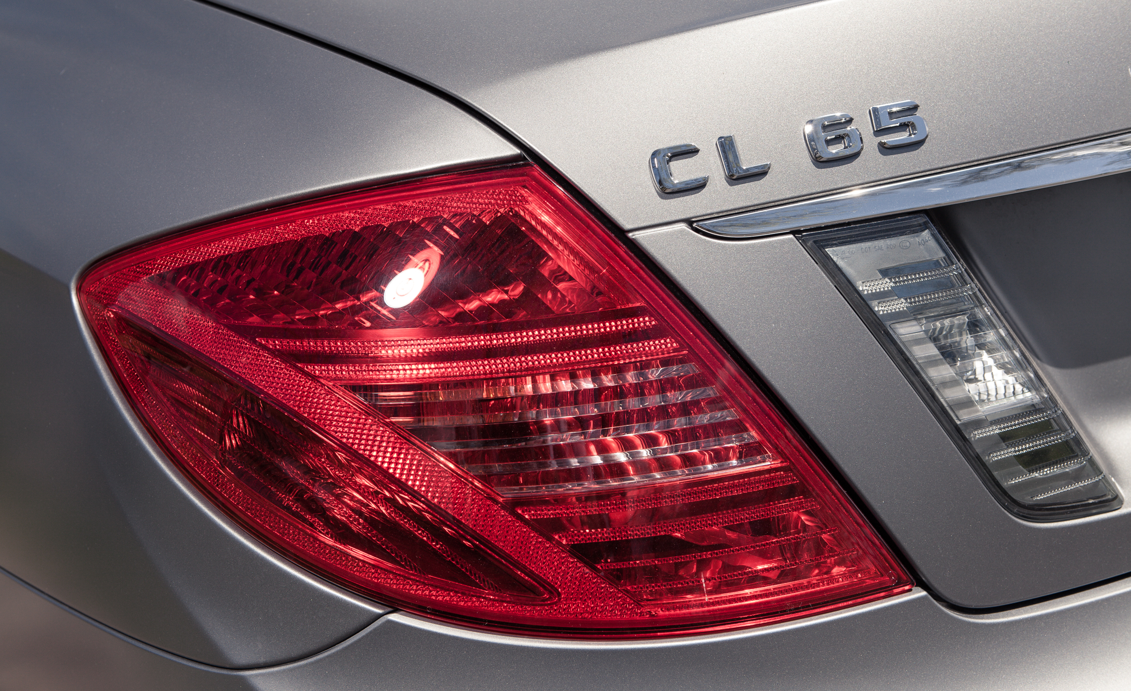 2013 Mercedes Benz CL65 AMG Exterior View Taillight And Rear Badge (Photo 8 of 27)