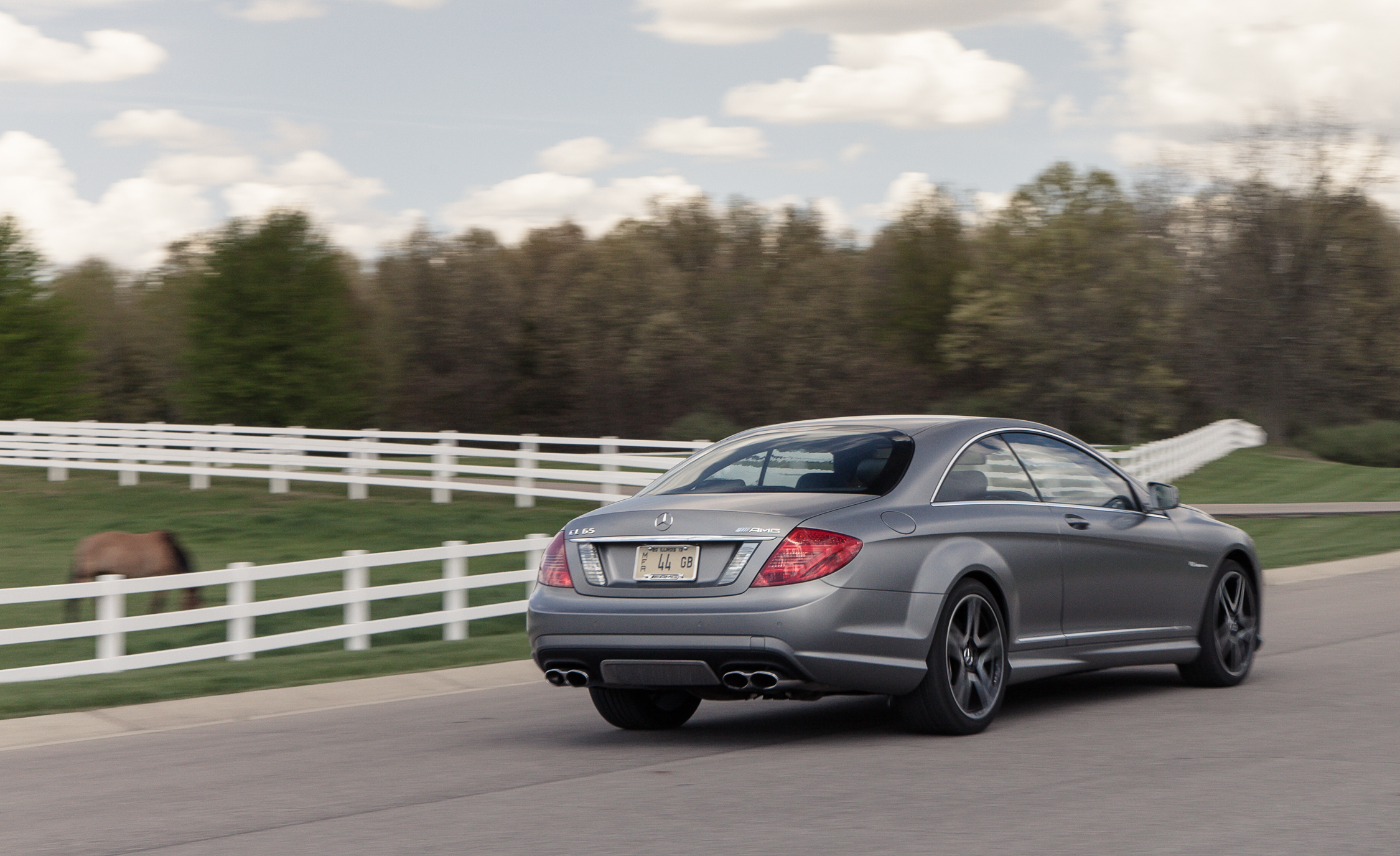 2013 Mercedes Benz CL65 AMG Test Drive Rear And Side View (Photo 24 of 27)