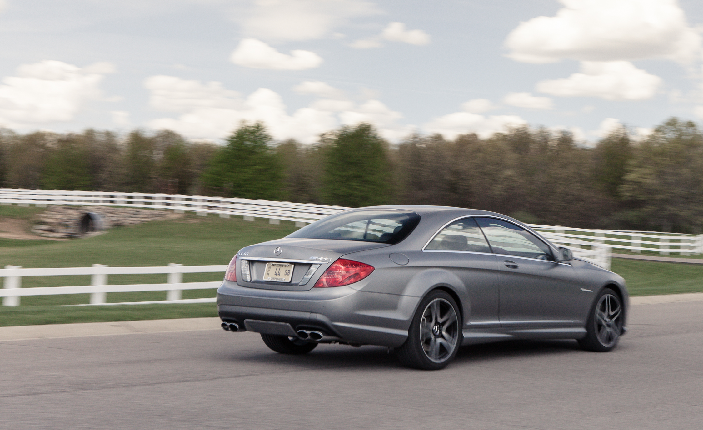 2013 Mercedes Benz CL65 AMG Test Drive Side And Rear View (Photo 25 of 27)
