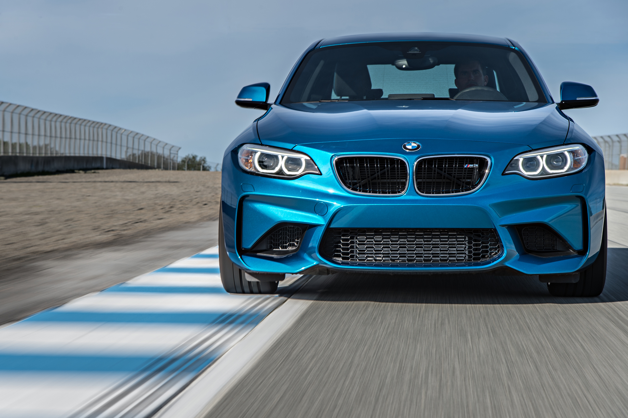 2016 BMW M2 Circuit Test Front View (Photo 61 of 61)