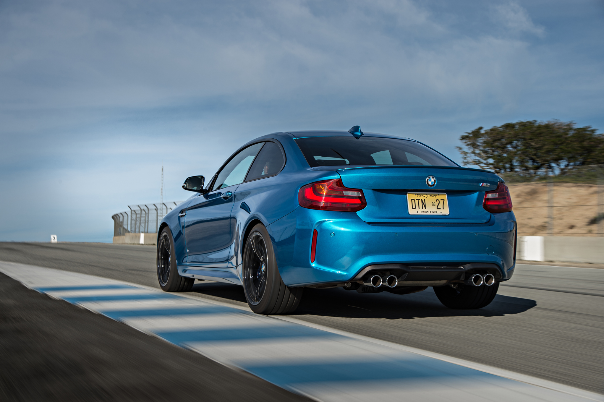 2016 BMW M2 Coupe Rear And Side View (Photo 15 of 61)