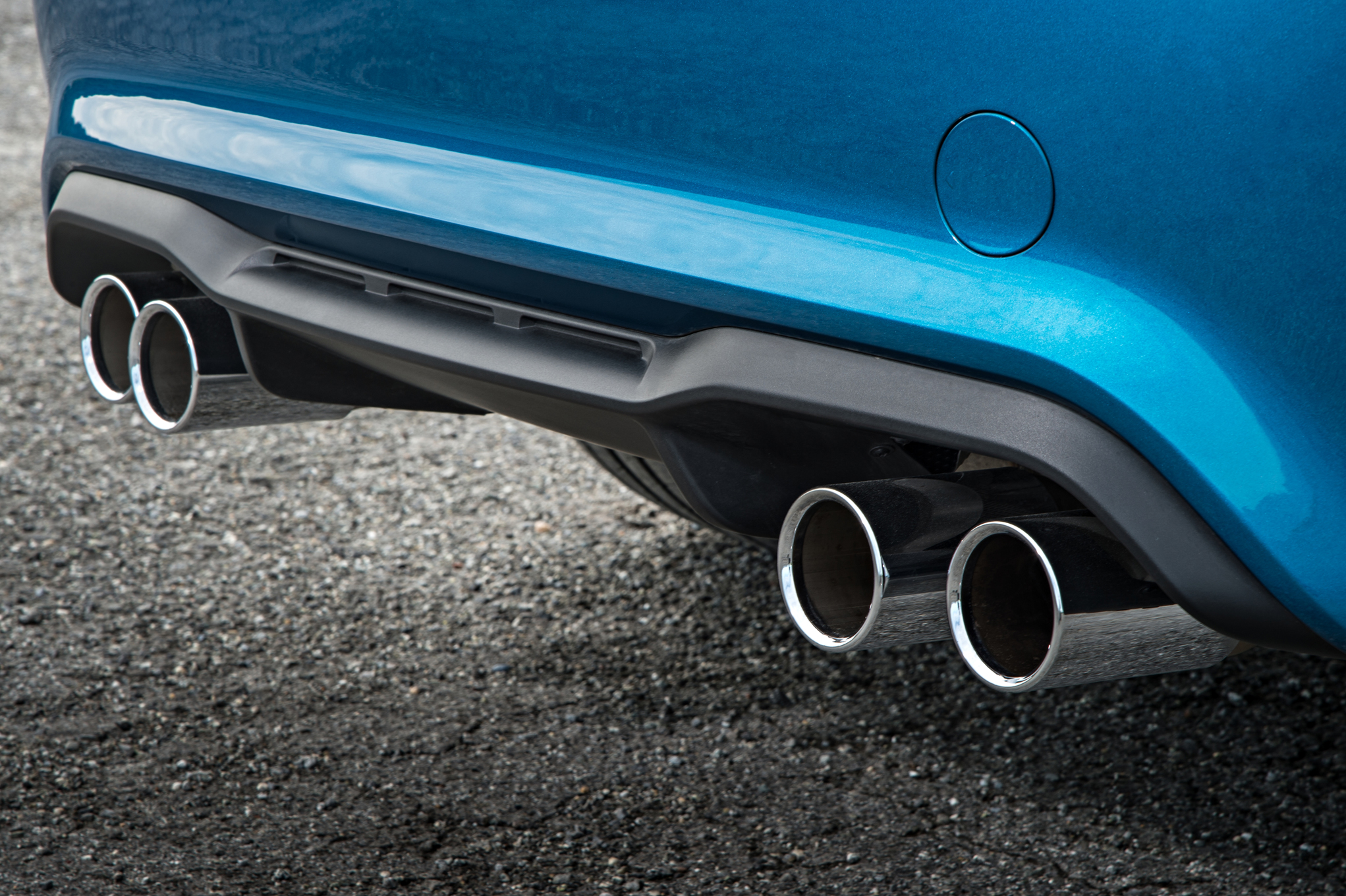 2016 BMW M2 Exterior View Exhaust Muffler Tailpipe (Photo 26 of 61)
