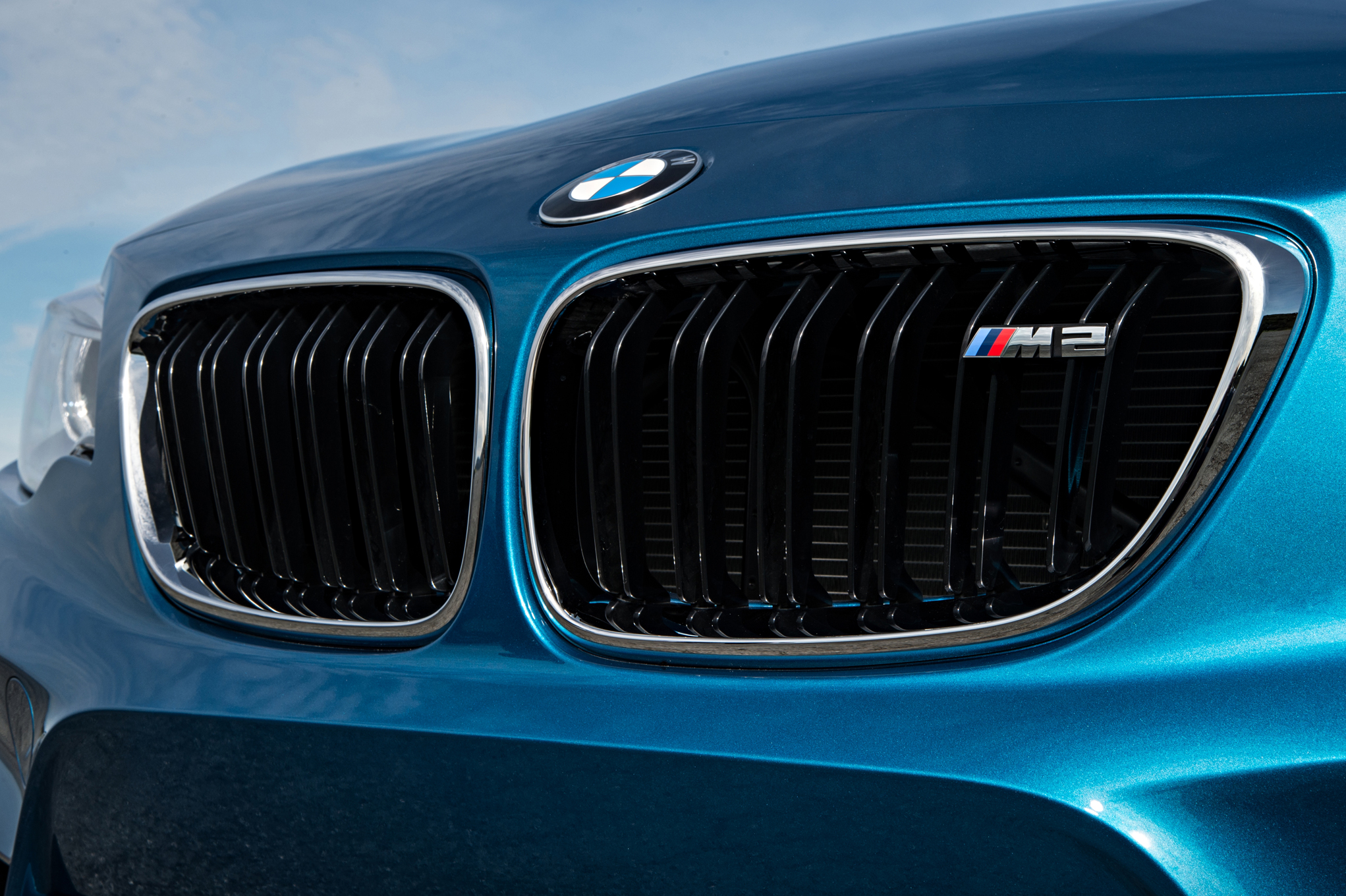 2016 BMW M2 Exterior View Grille (Photo 27 of 61)