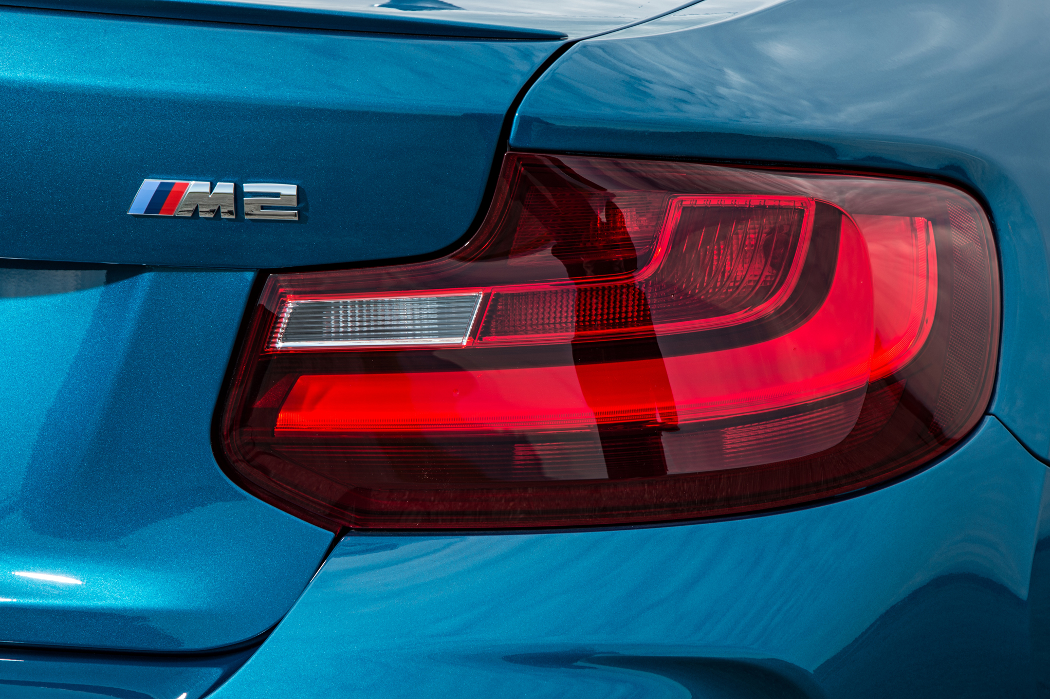 2016 BMW M2 Exterior View Taillight (Photo 32 of 61)