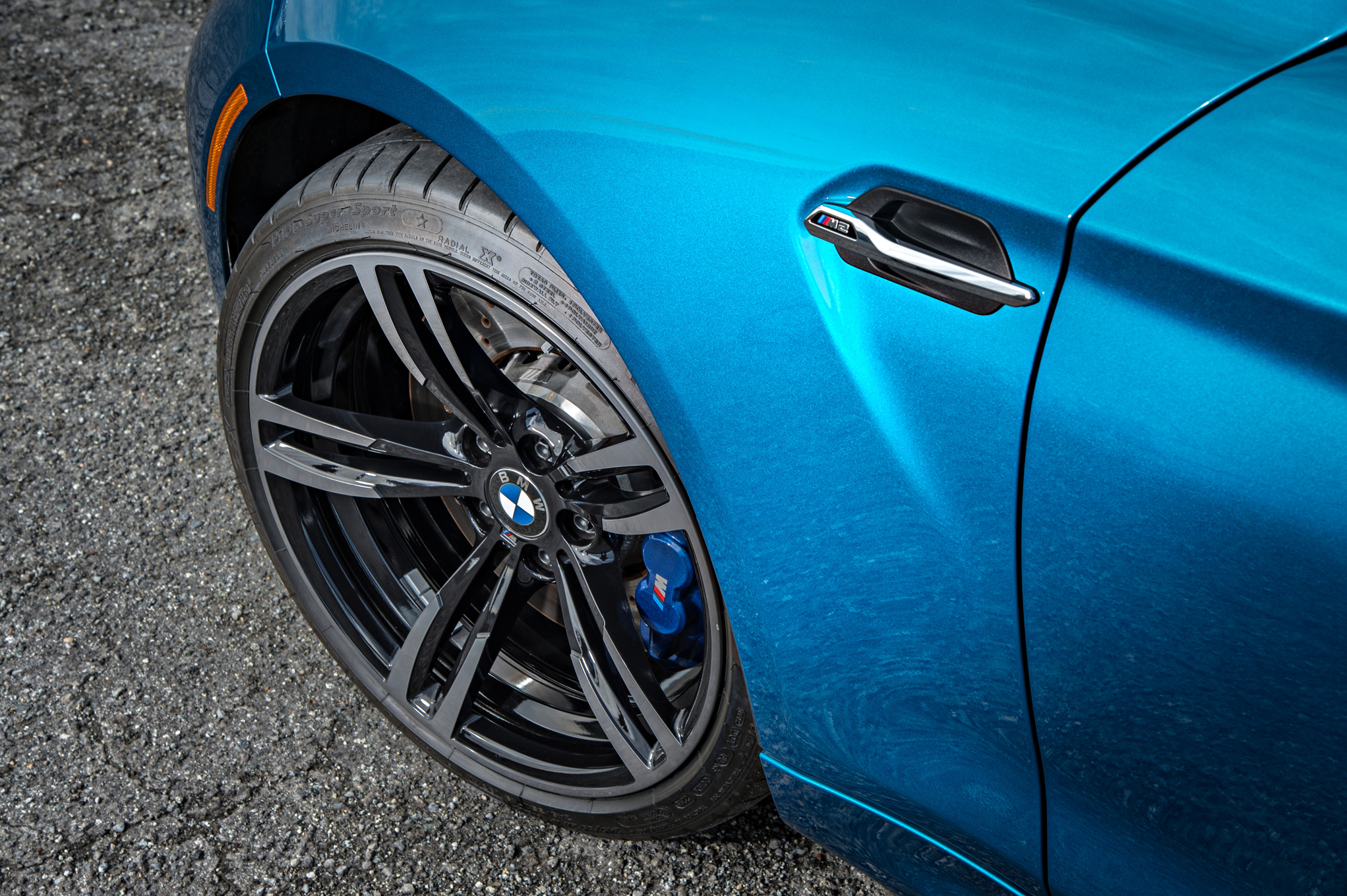2016 BMW M2 Exterior View Wheel Trim (Photo 33 of 61)
