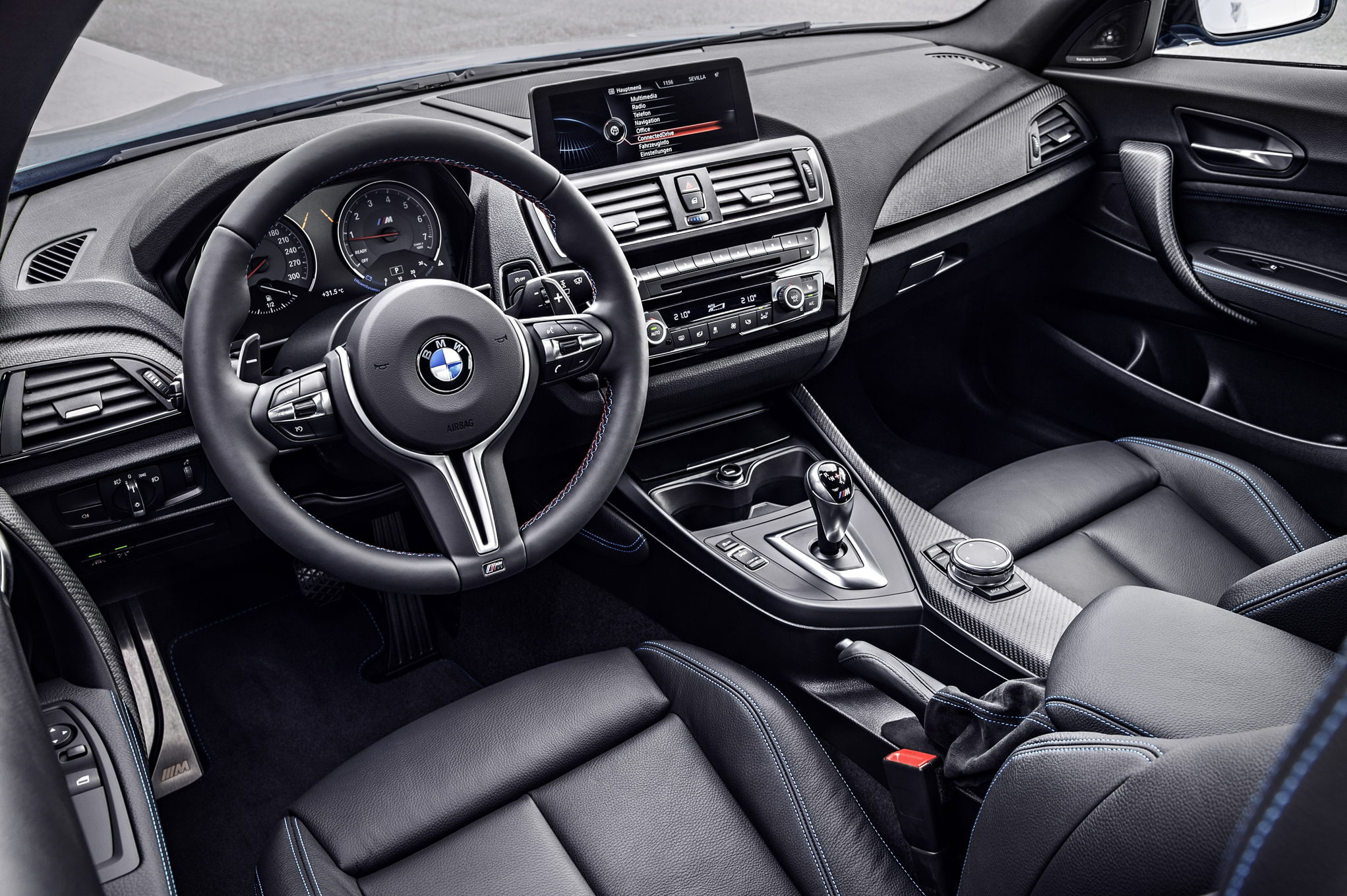 2016 BMW M2 Interior Driver Cockpit And Dash (Photo 28 of 61)