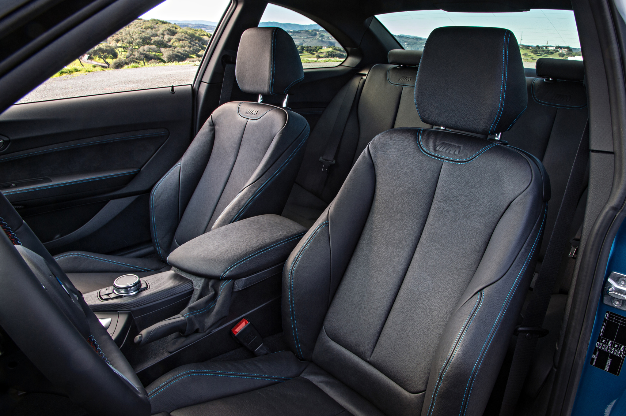 2016 BMW M2 Interior Seats Front (Photo 38 of 61)
