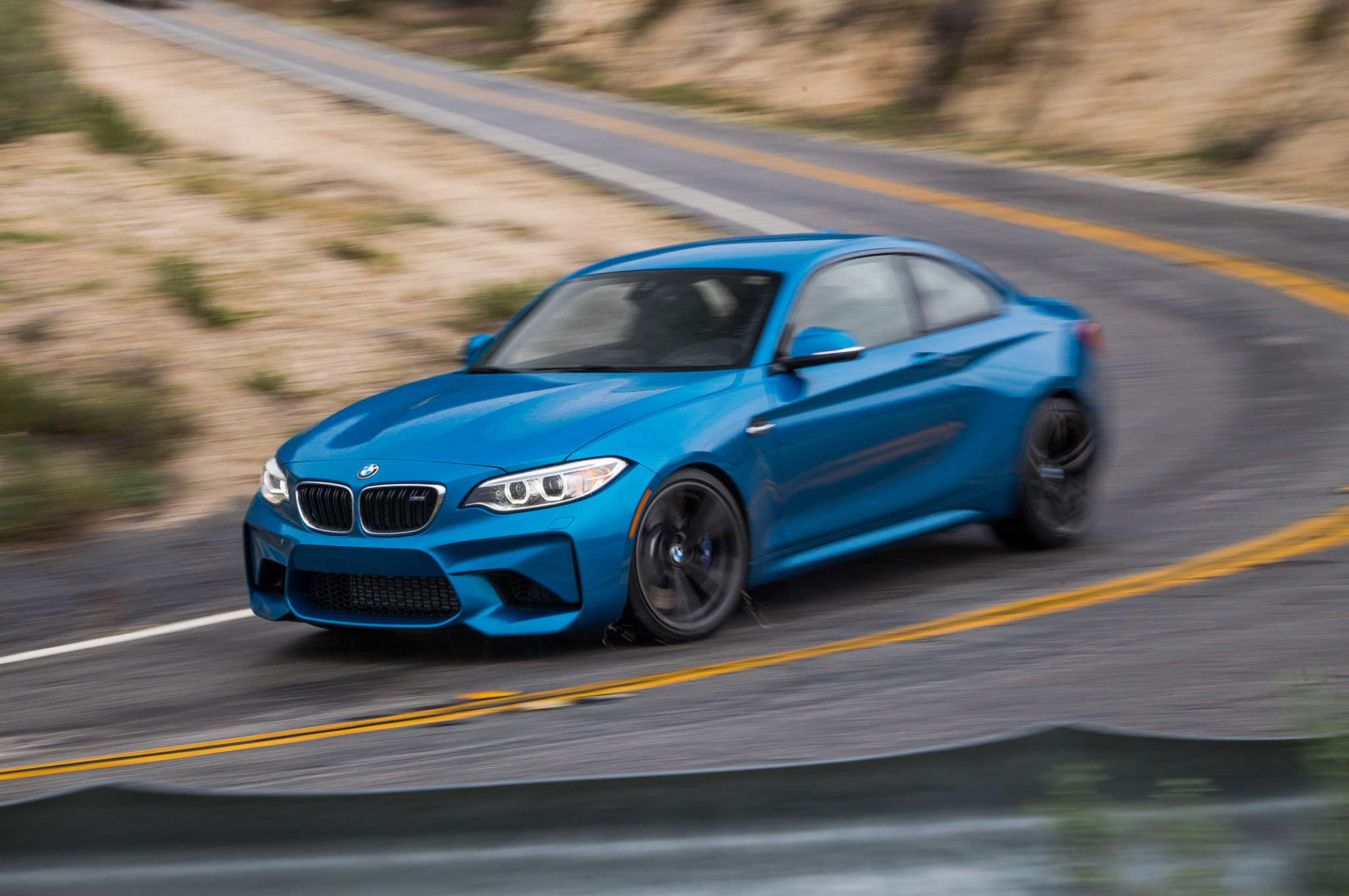 2016 BMW M2 Test Drive Front And Side View (Photo 54 of 61)