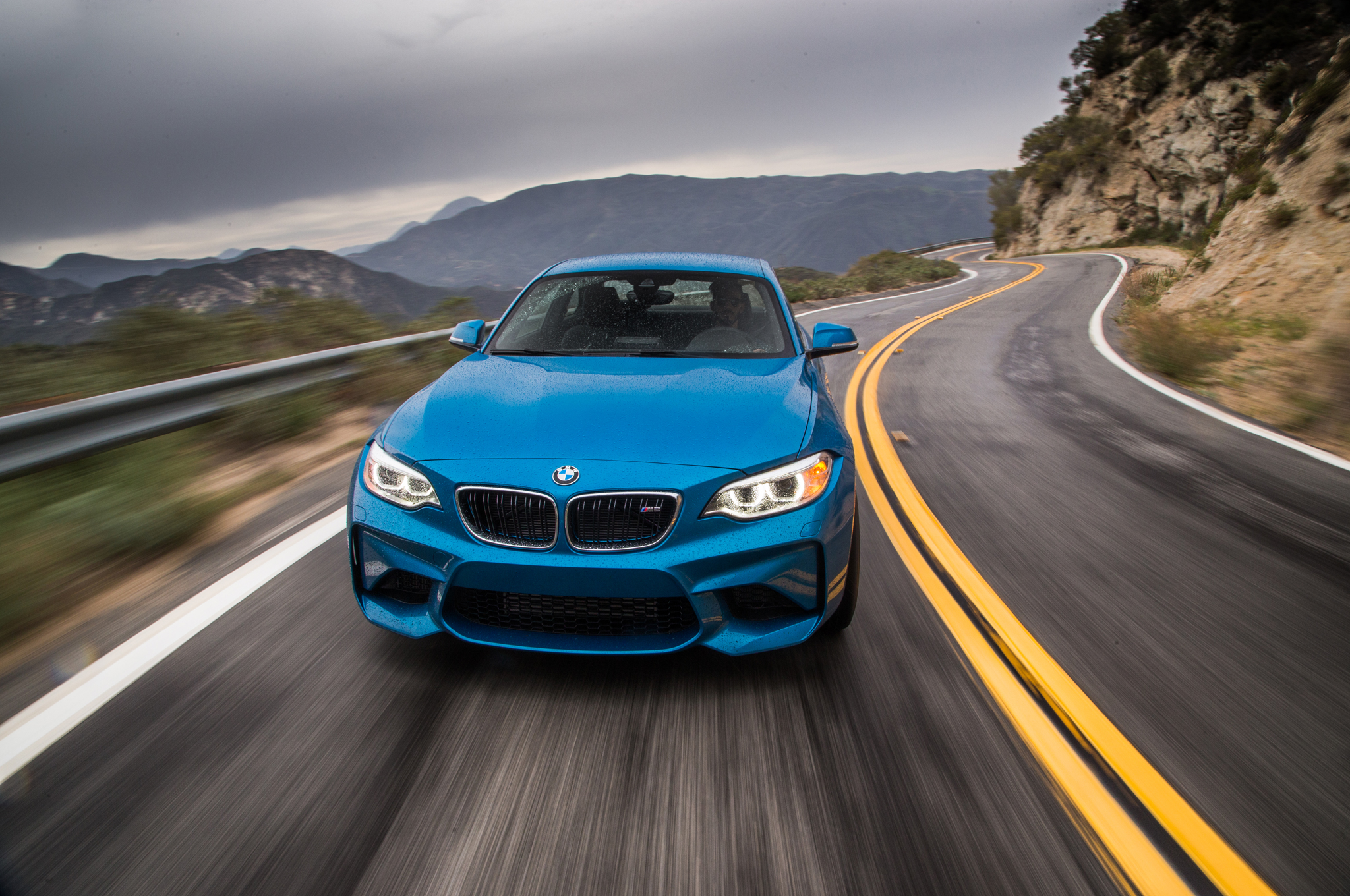 2016 BMW M2 Test Drive Front View (Photo 56 of 61)