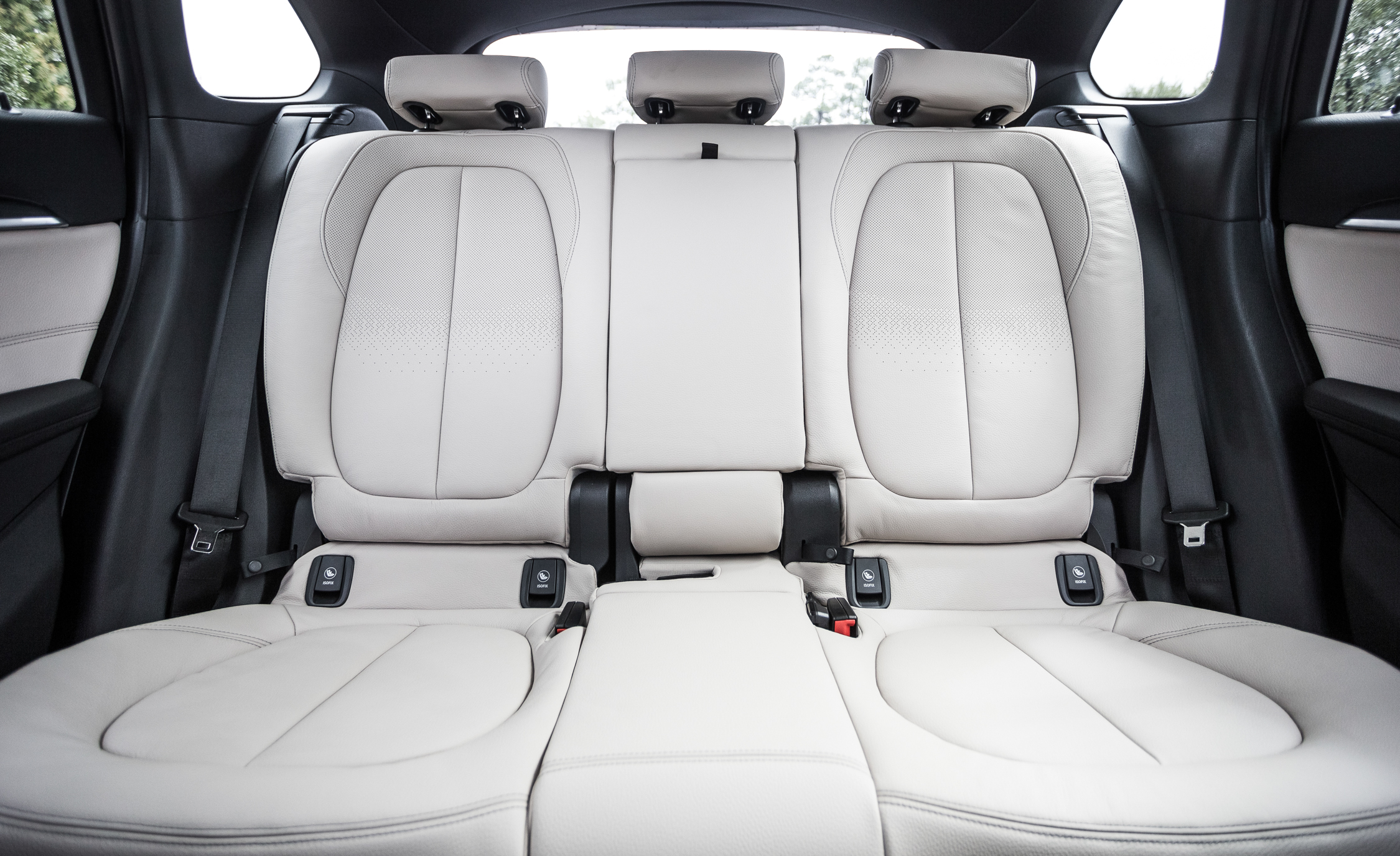 2016 BMW X1 Interior Seats Rear Passengers (Photo 21 of 36)