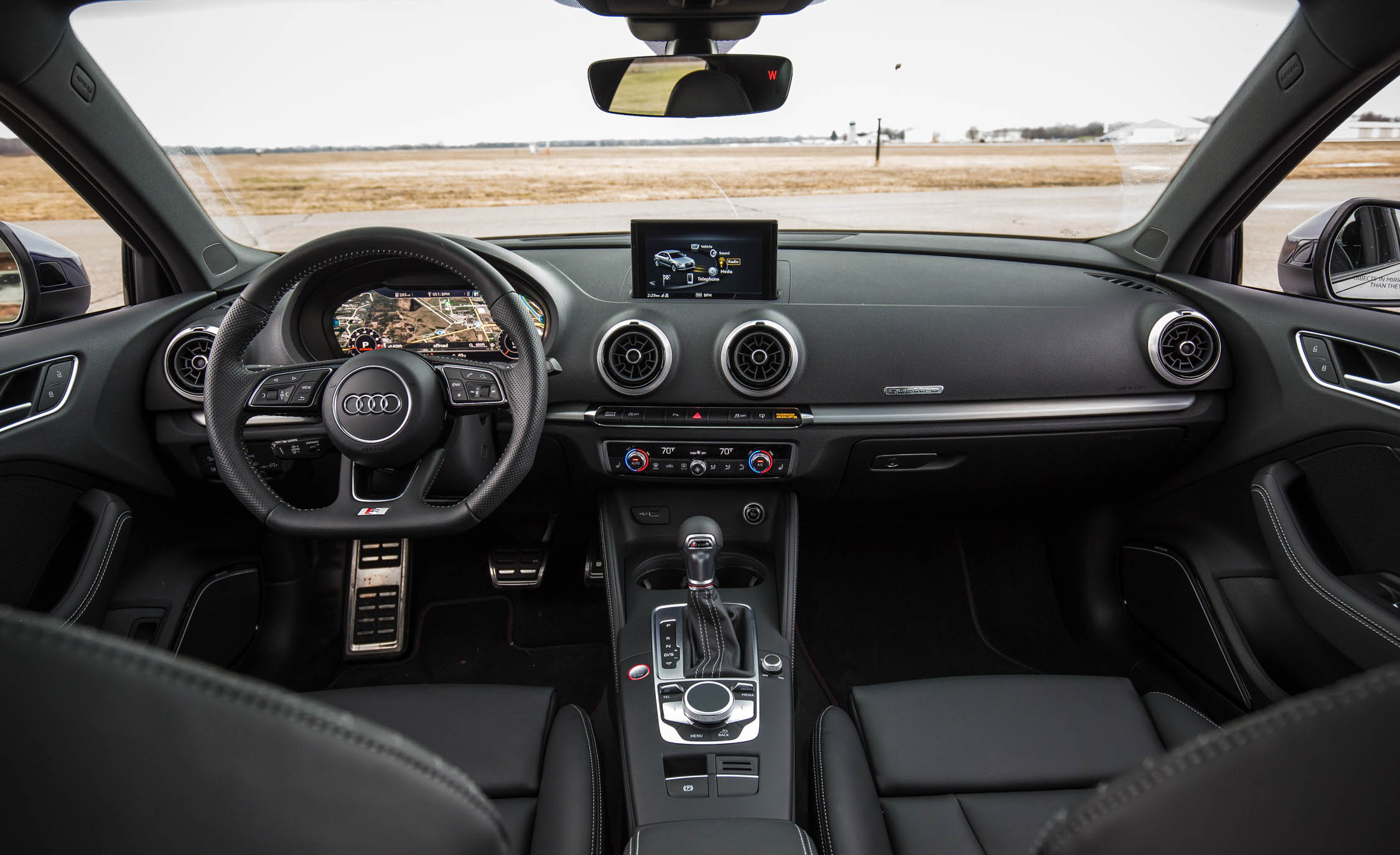 2017 Audi S3 Interior Dashboard (Photo 36 Of 50)