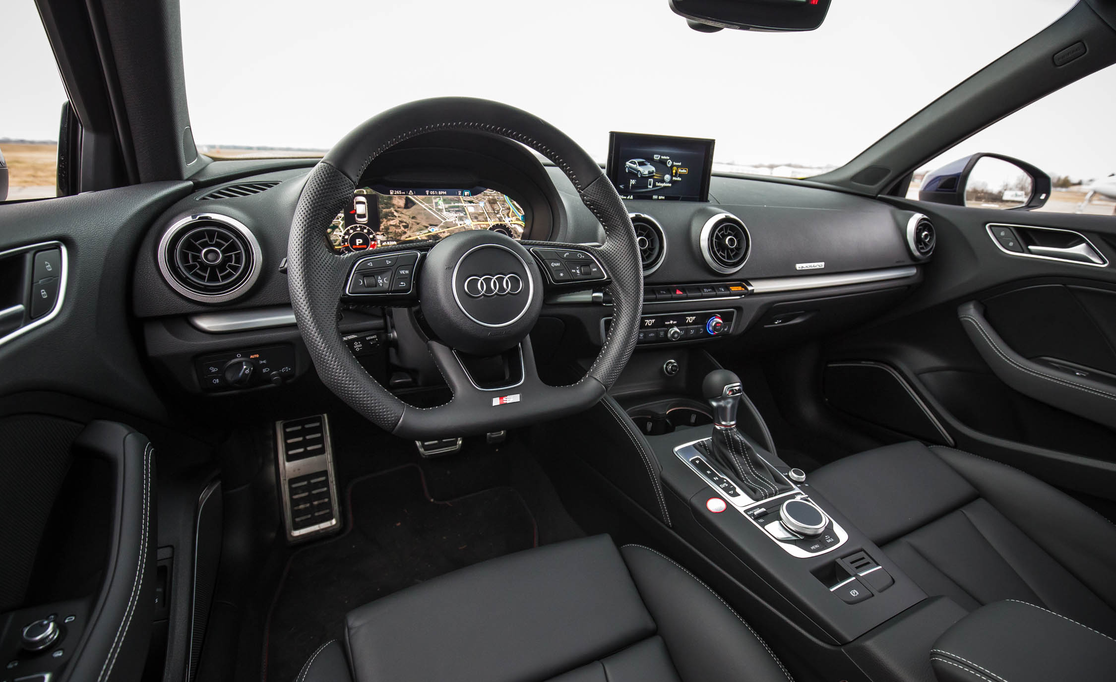 Superior 2017 Audi S3 Interior (Photo 8 Of 50)