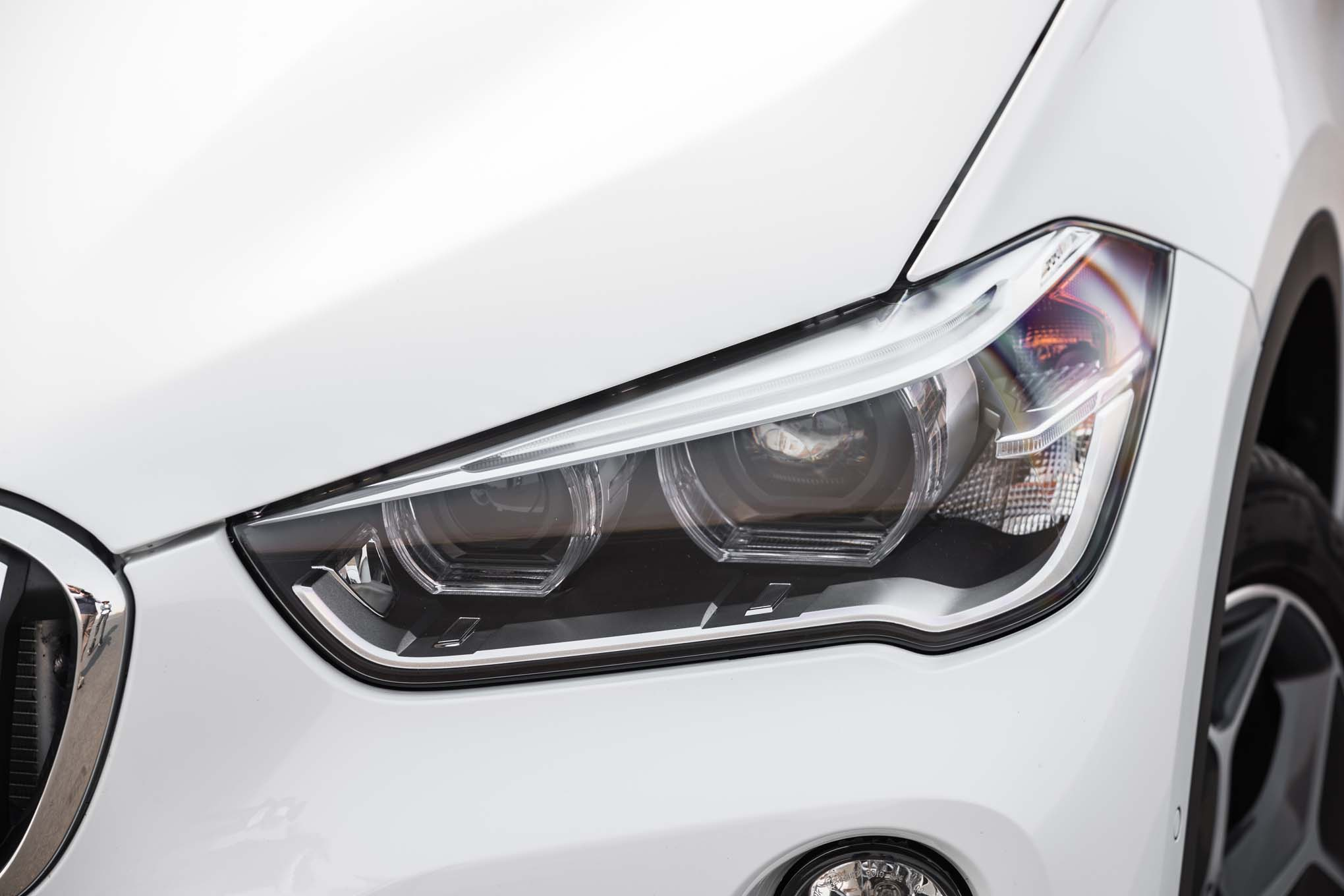 2017 BMW X1 XDrive28i Exterior View Headlight (Photo 6 of 23)