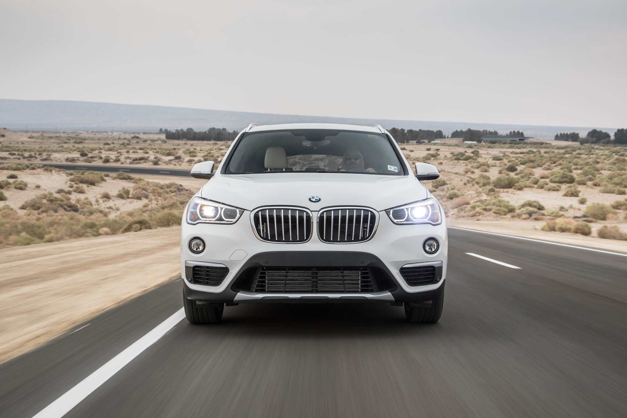 2017 BMW X1 XDrive28i Test Drive Front View (Photo 20 of 23)