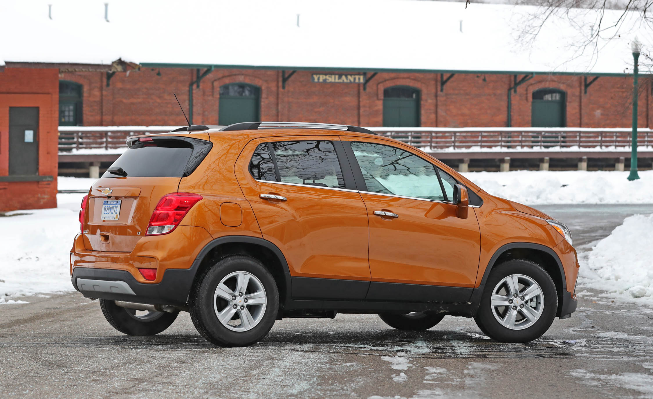 2017 Chevrolet Trax Exterior Side (View 37 of 47)