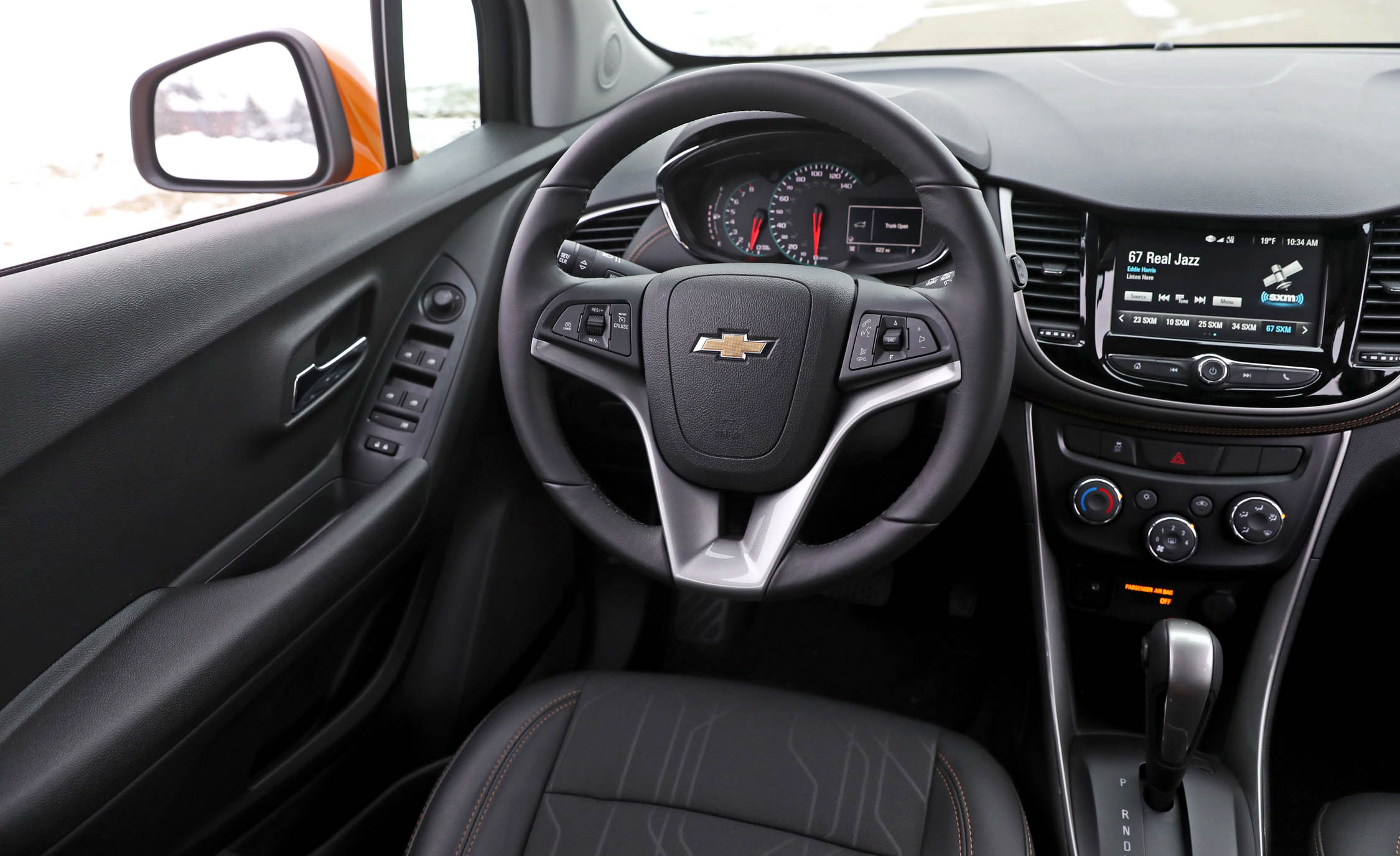 2017 Chevrolet Trax Interior Steering (View 25 of 47)