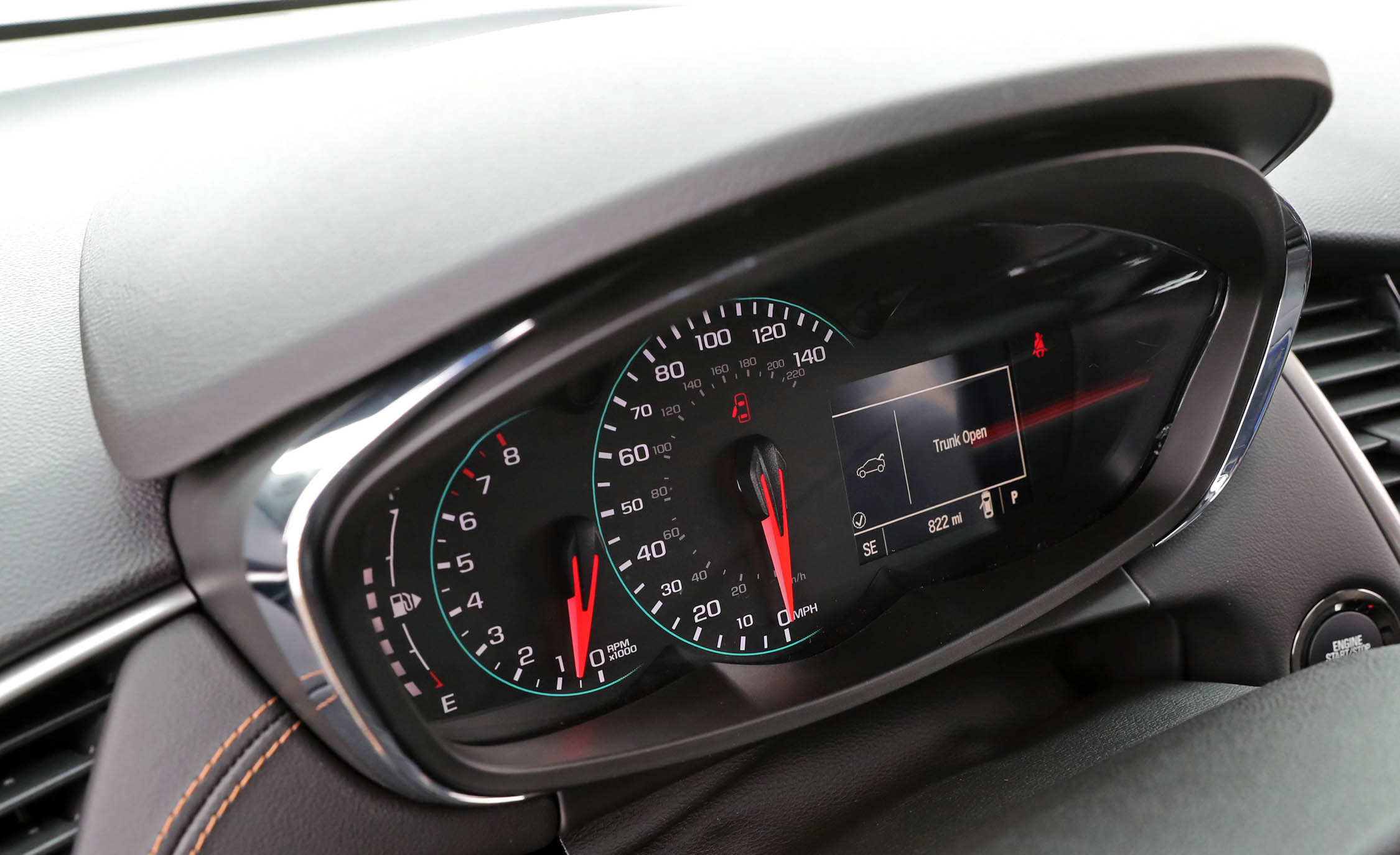 2017 Chevrolet Trax Interior View Speedometer (View 17 of 47)