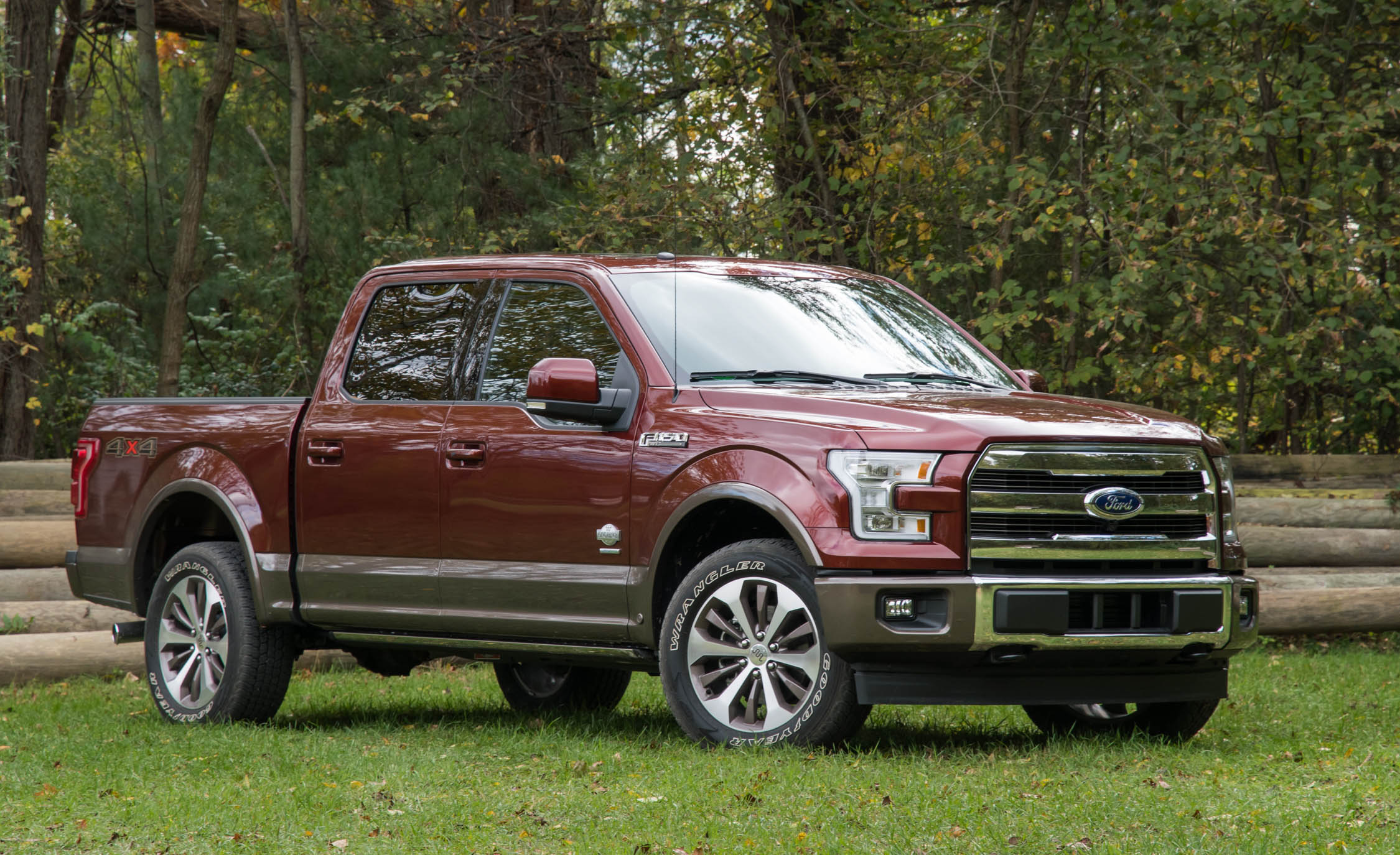 2017 Ford F 150 King Ranch Exterior Front And Side (Photo 4 of 50)