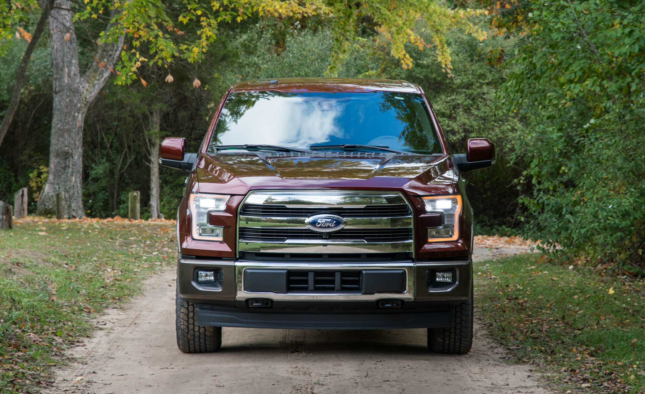 2017 Ford F 150 King Ranch Exterior Front (Photo 3 of 50)