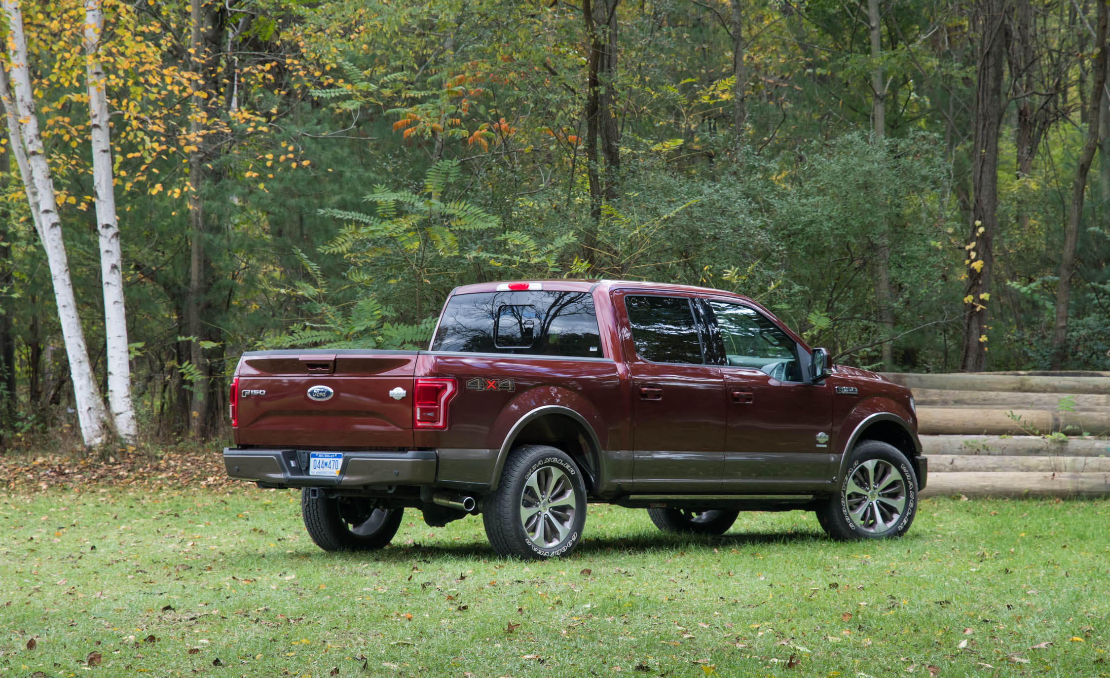 2017 Ford F 150 King Ranch Exterior Rear And Side (Photo 6 of 50)