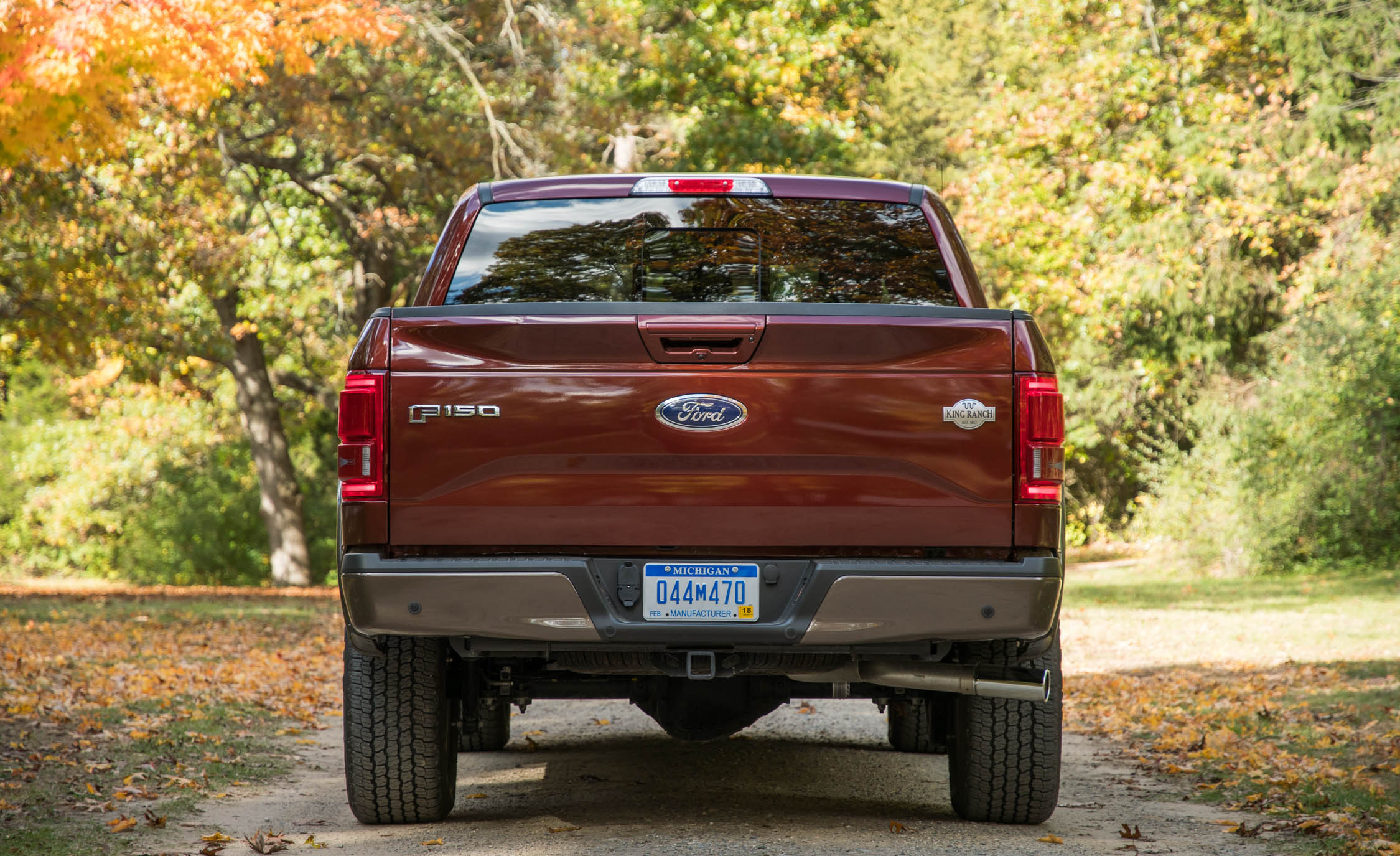 2017 Ford F 150 King Ranch Exterior Rear (Photo 45 of 50)