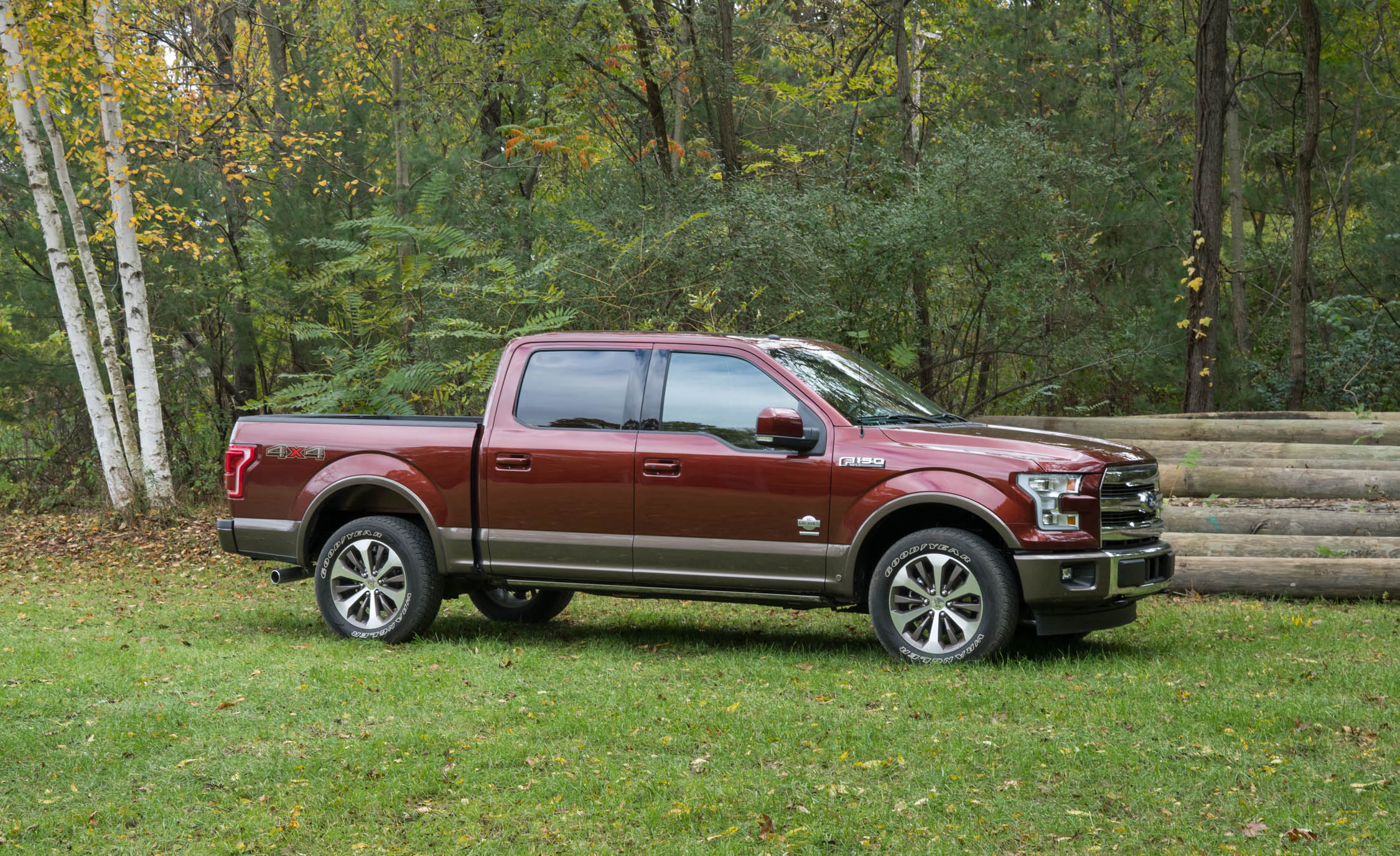 2017 Ford F 150 King Ranch Exterior Side And Front (Photo 46 of 50)