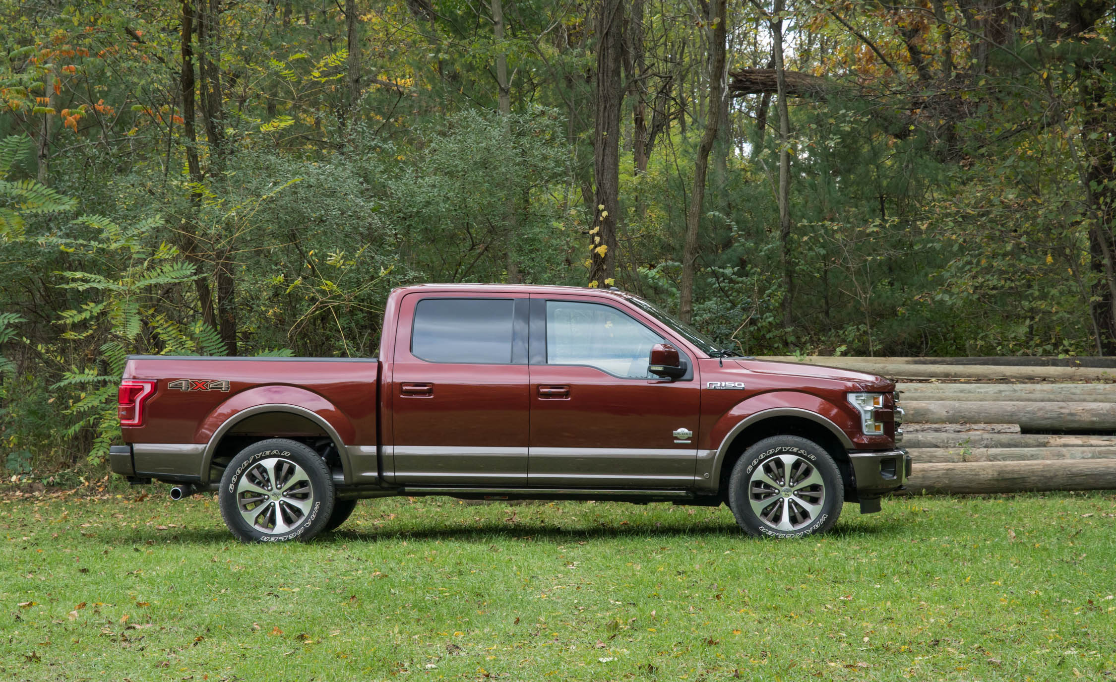 2017 Ford F 150 King Ranch Exterior Side (Photo 40 of 50)