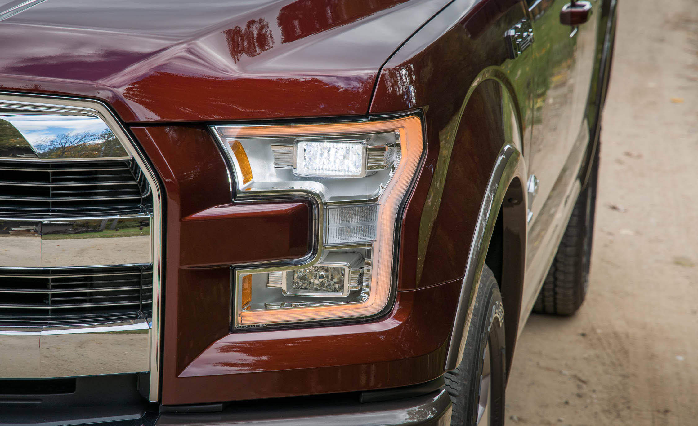 2017 Ford F 150 King Ranch Exterior View Headlight (Photo 43 of 50)