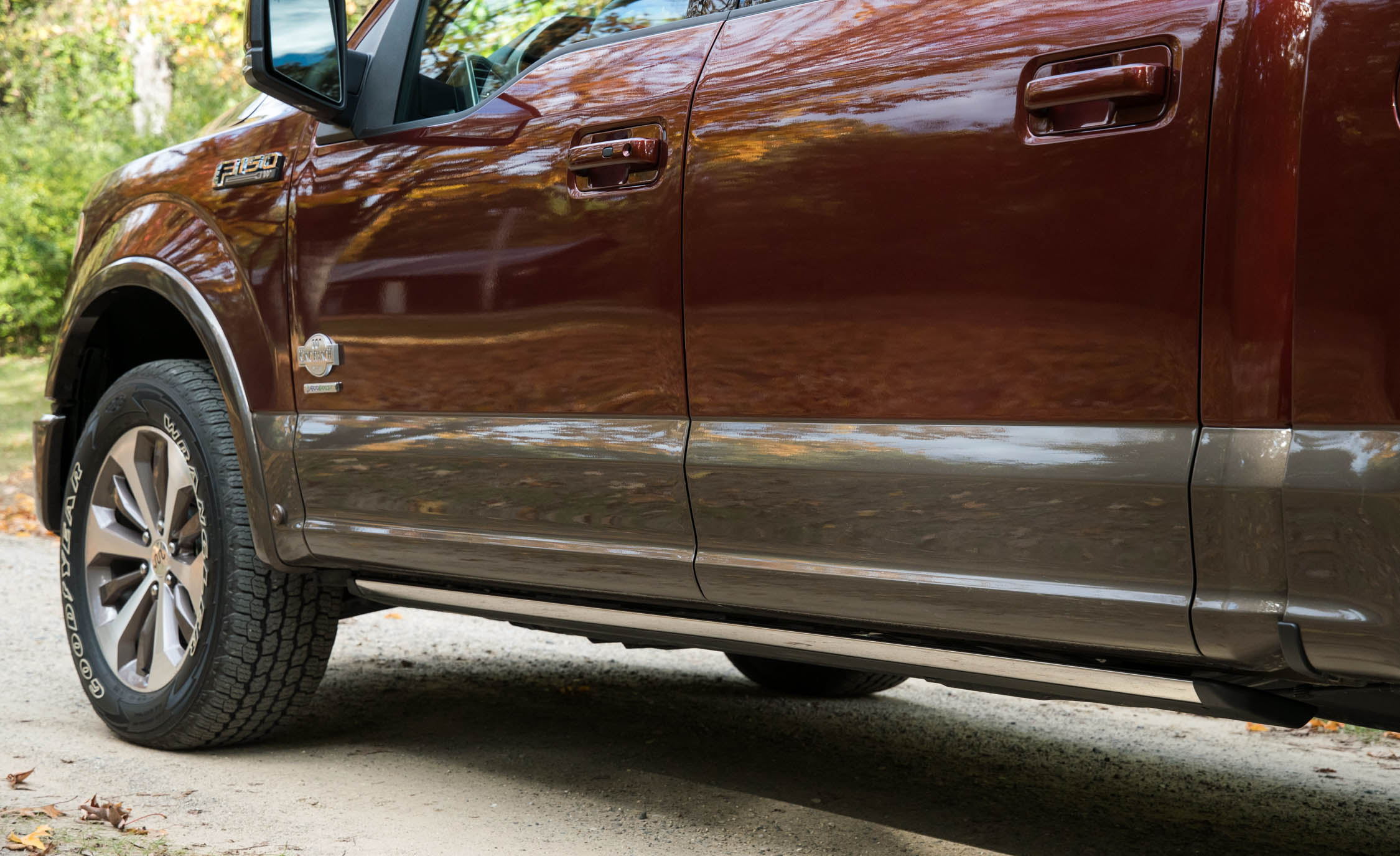 2017 Ford F 150 King Ranch Exterior View Side Body (Photo 19 of 50)