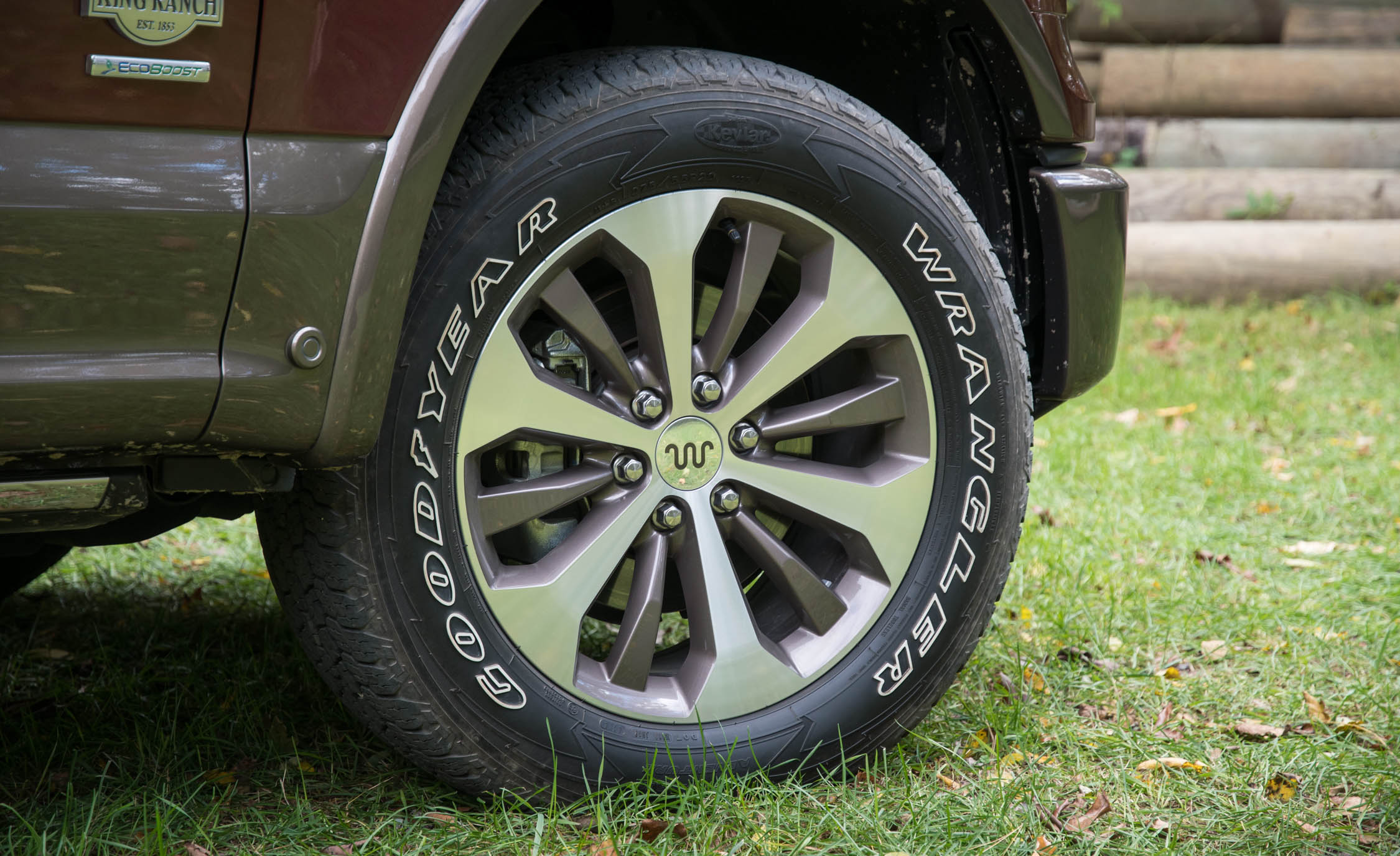 2017 Ford F 150 King Ranch Exterior View Wheel And Velg (Photo 22 of 50)